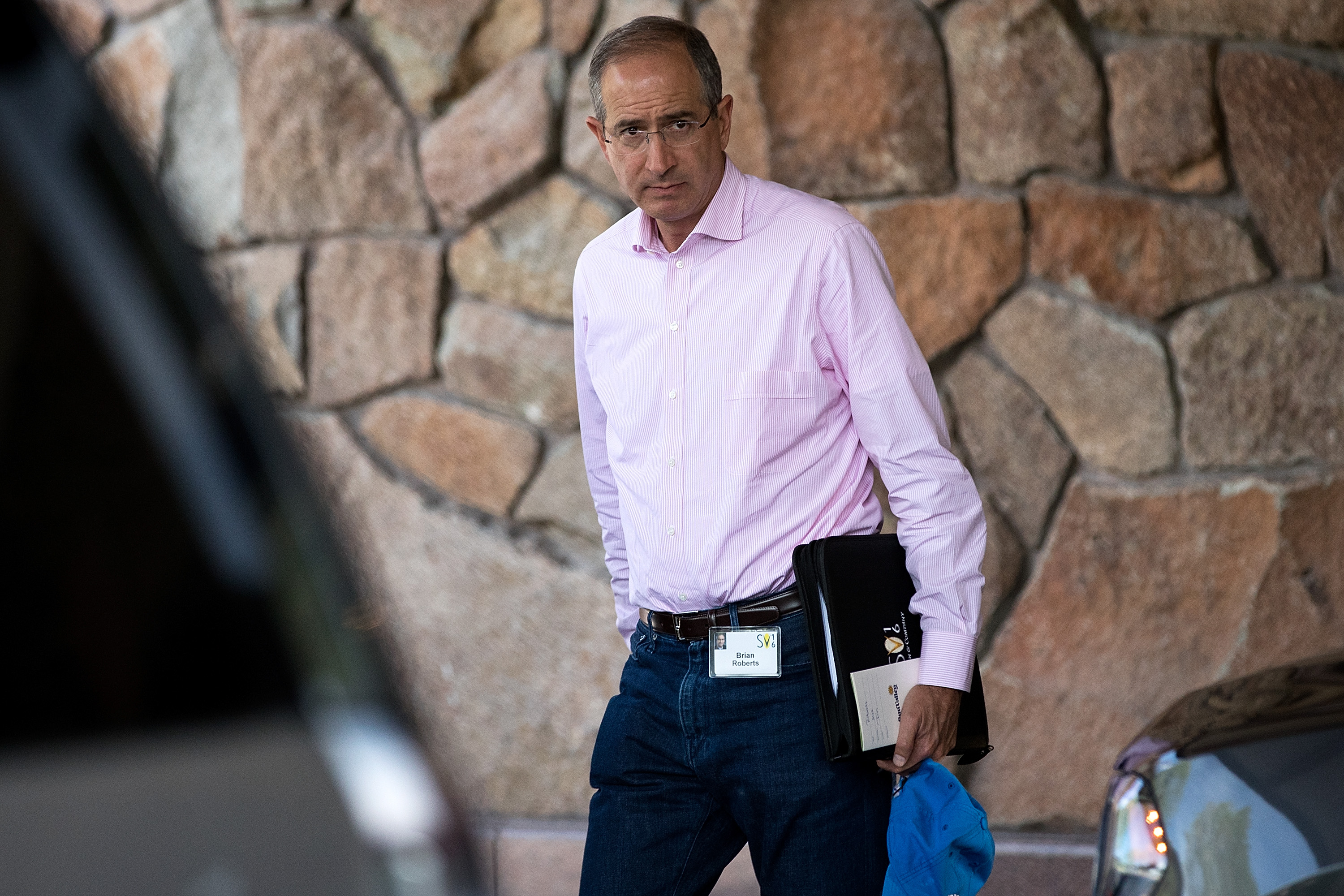 Comcast CEO Brian Roberts at the Sun Valley conference in 2016