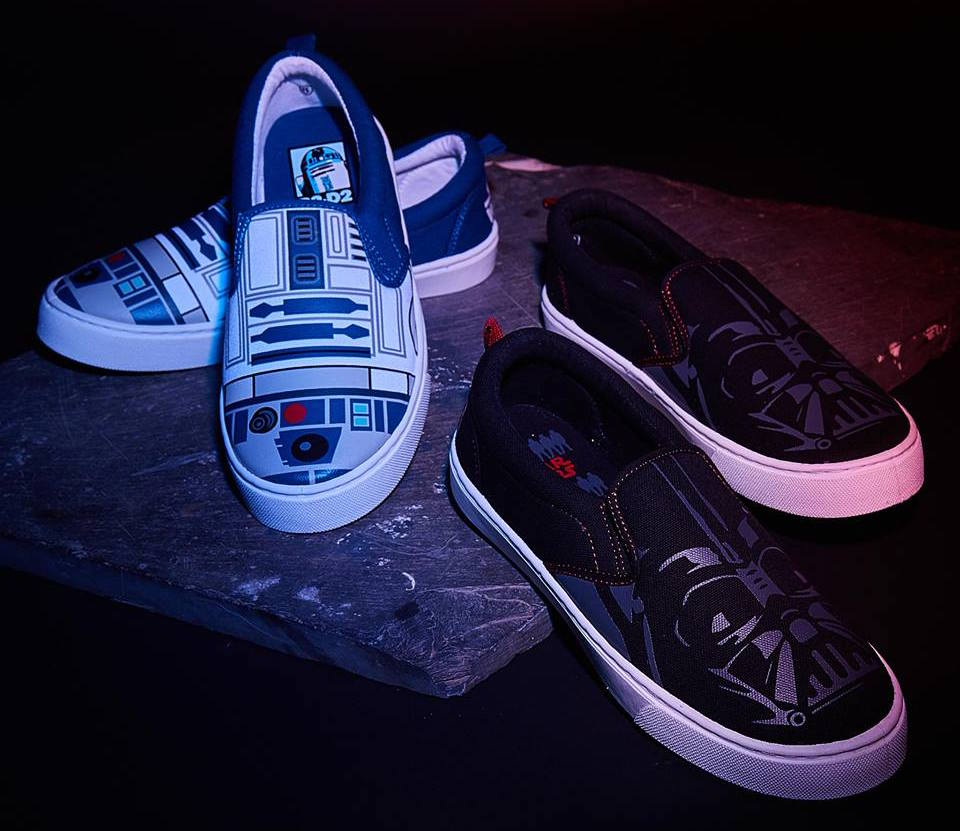 Star Wars slip-on sneakers