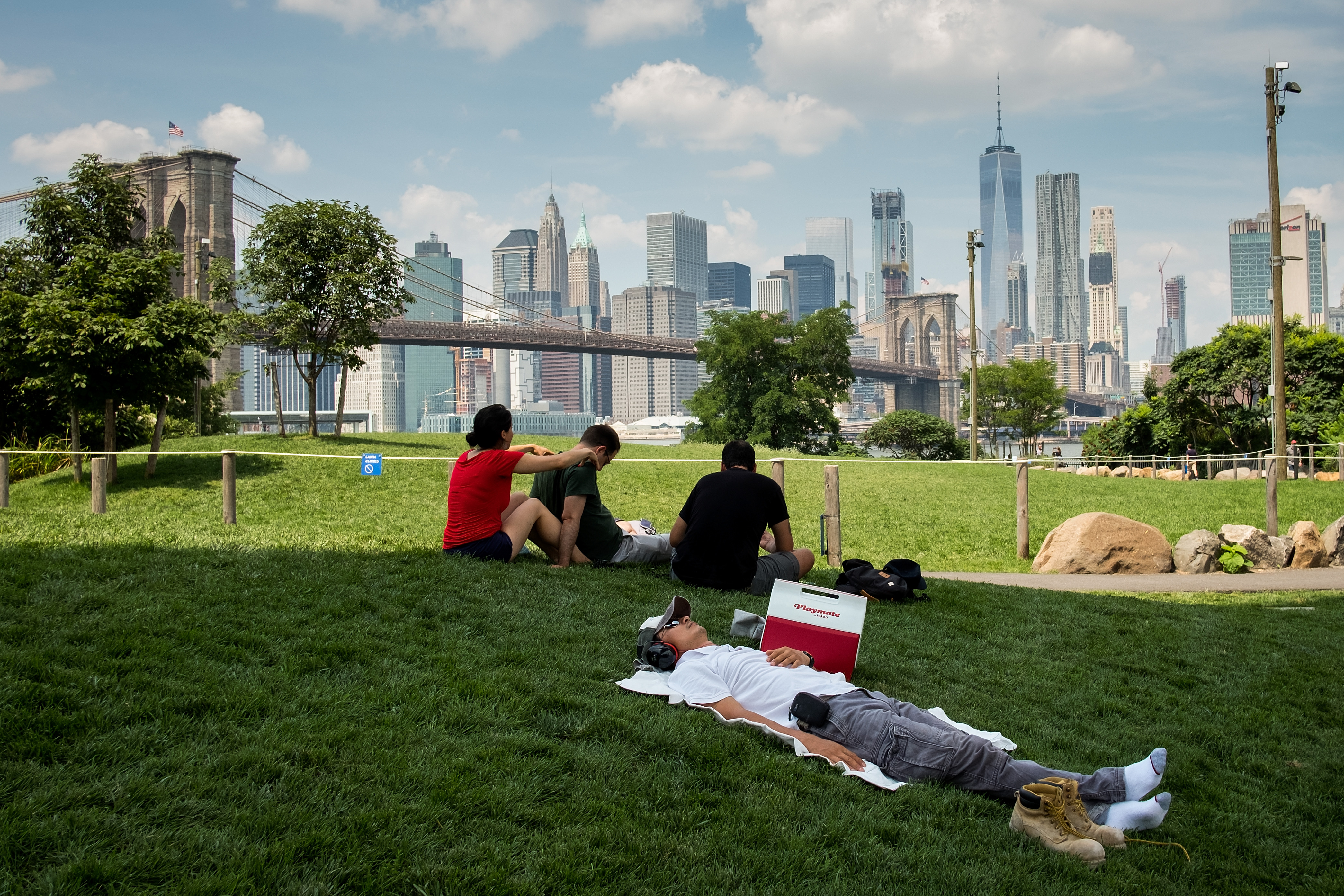 Extreme Heat And Humidity Continue To Push Temperatures Into 90's In New York