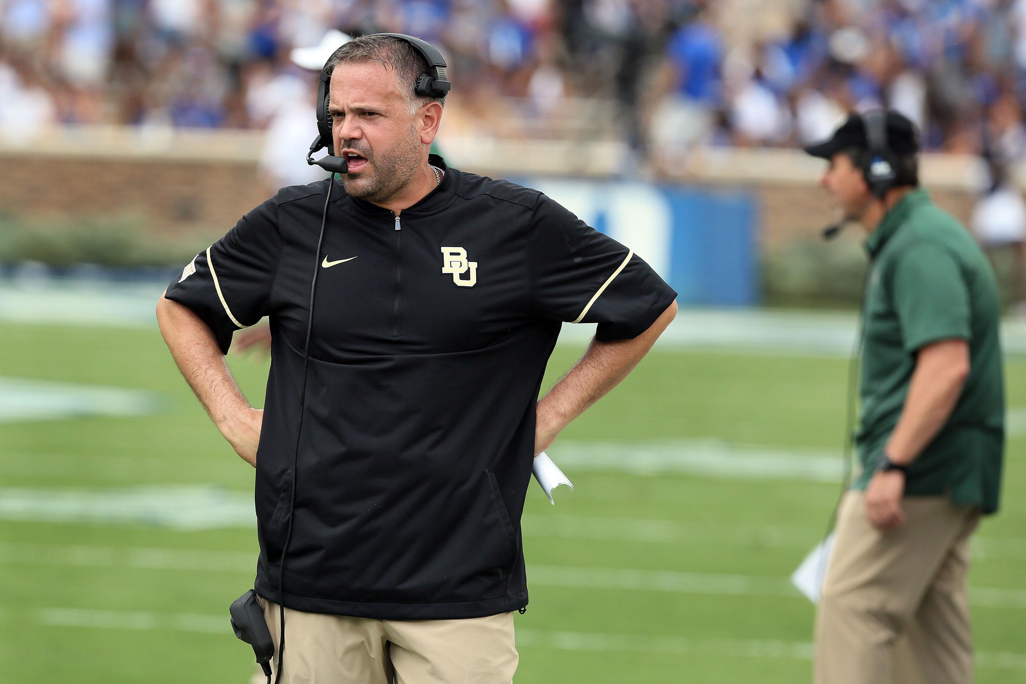 NCAA Football: Baylor at Duke