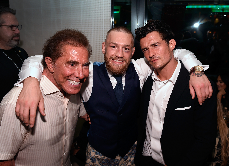 Conor McGregor After-Fight Party And Wynn Nightlife Residency Debut, Encore Beach Club At Night In Wynn Las Vegas