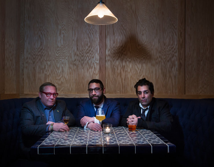 Sother Teague, Max Green, and Ravi DeRossi