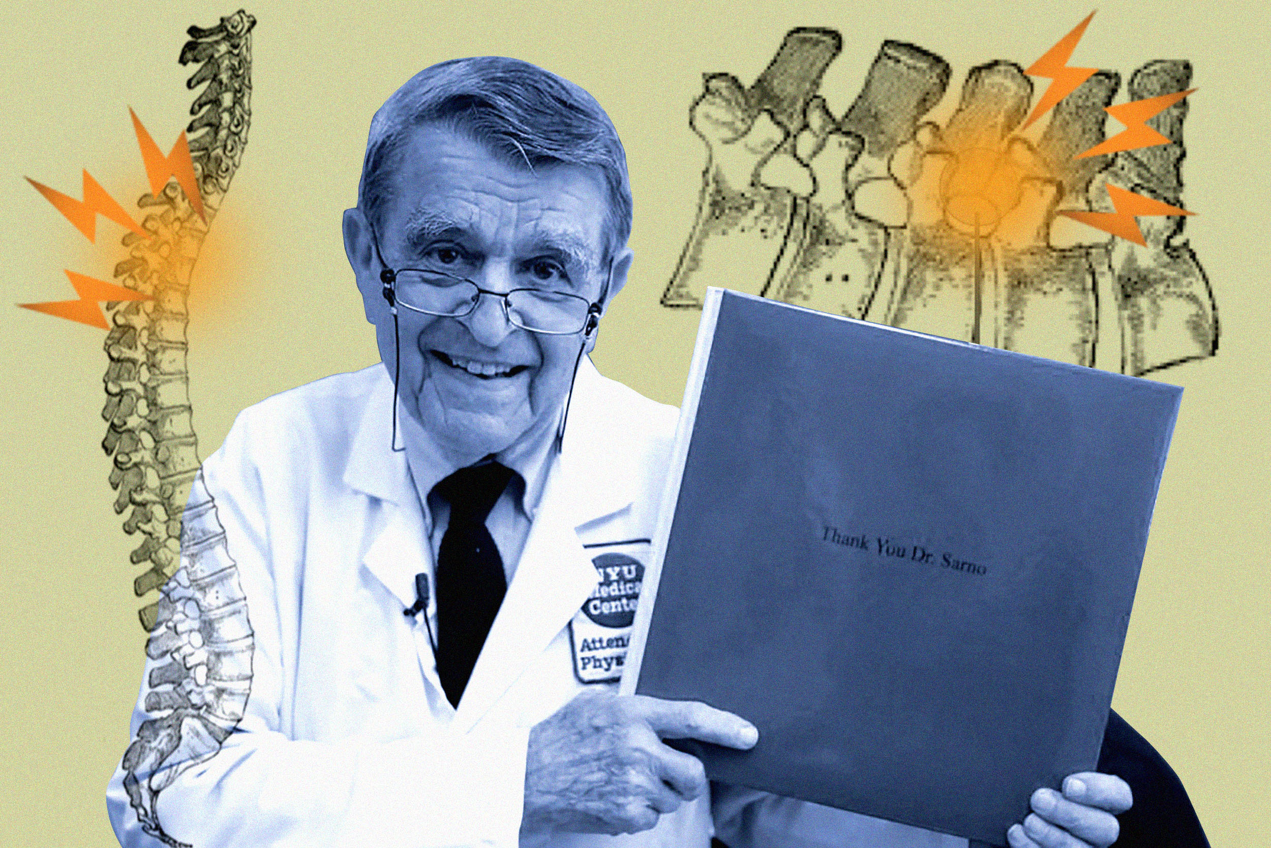 America's most famous back pain doctor said pain is in your head. Thousands think he's right.