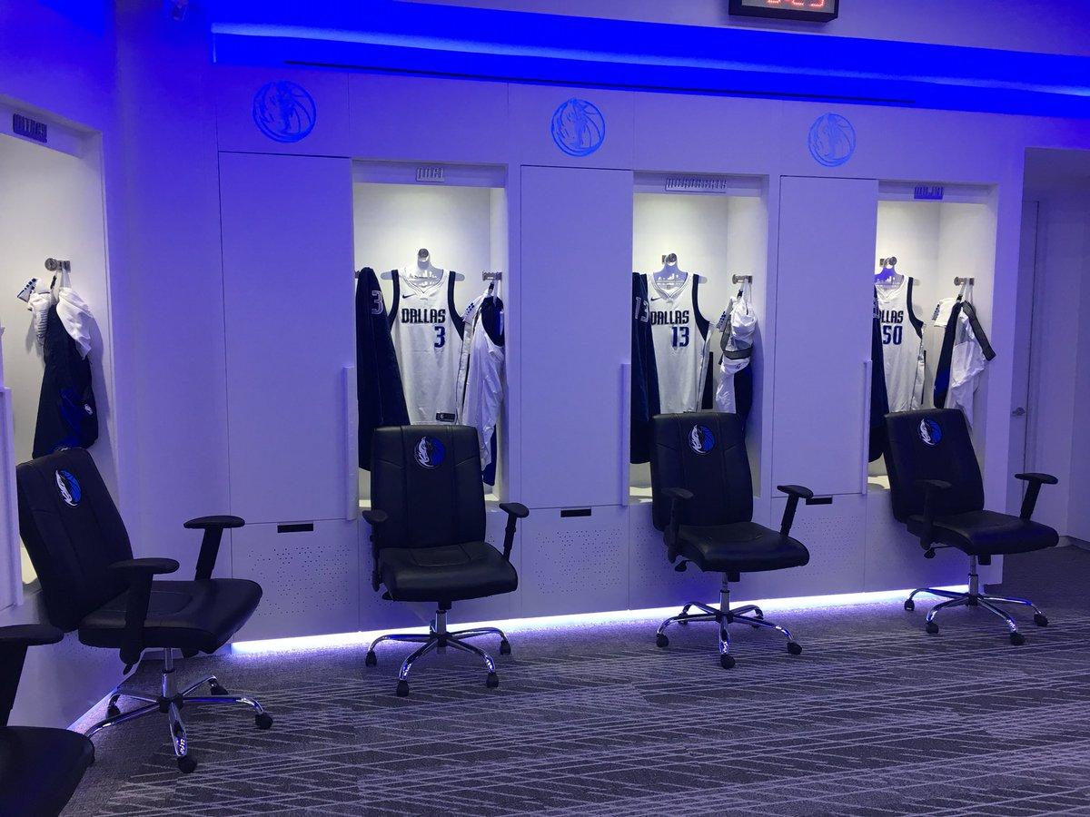Dallas Mavericks Locker Room Renovation