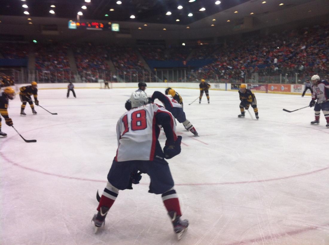 Arizona Hockey Faceoff