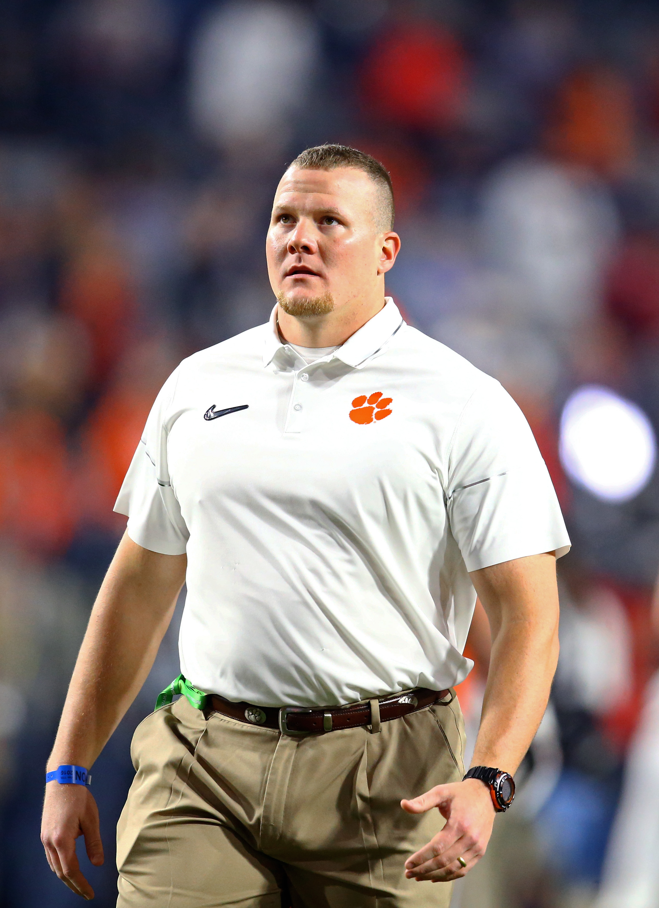 Clemson defensive coordinator Brent Venables snapped at his 'get back' coach, and I'm shook