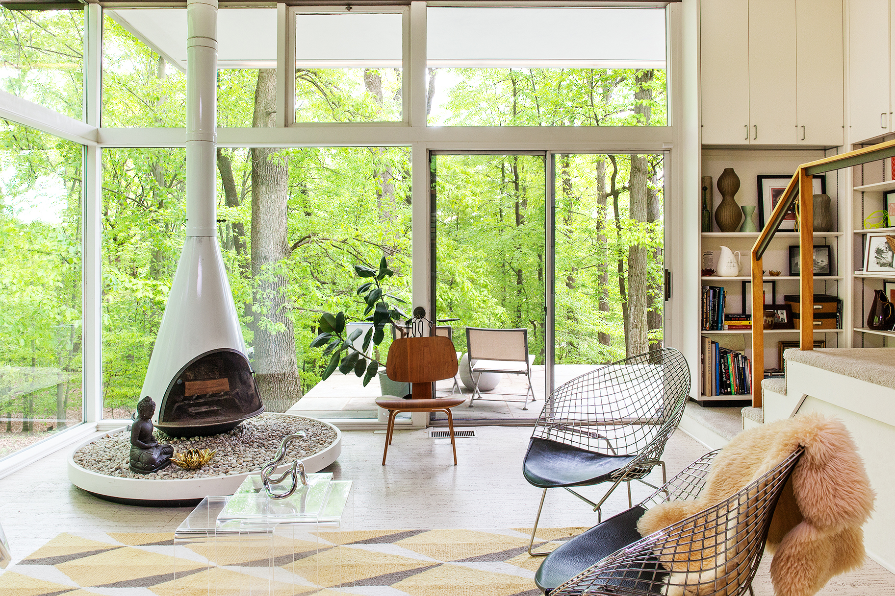 'We never dreamed we'd live in a Neutra house'
