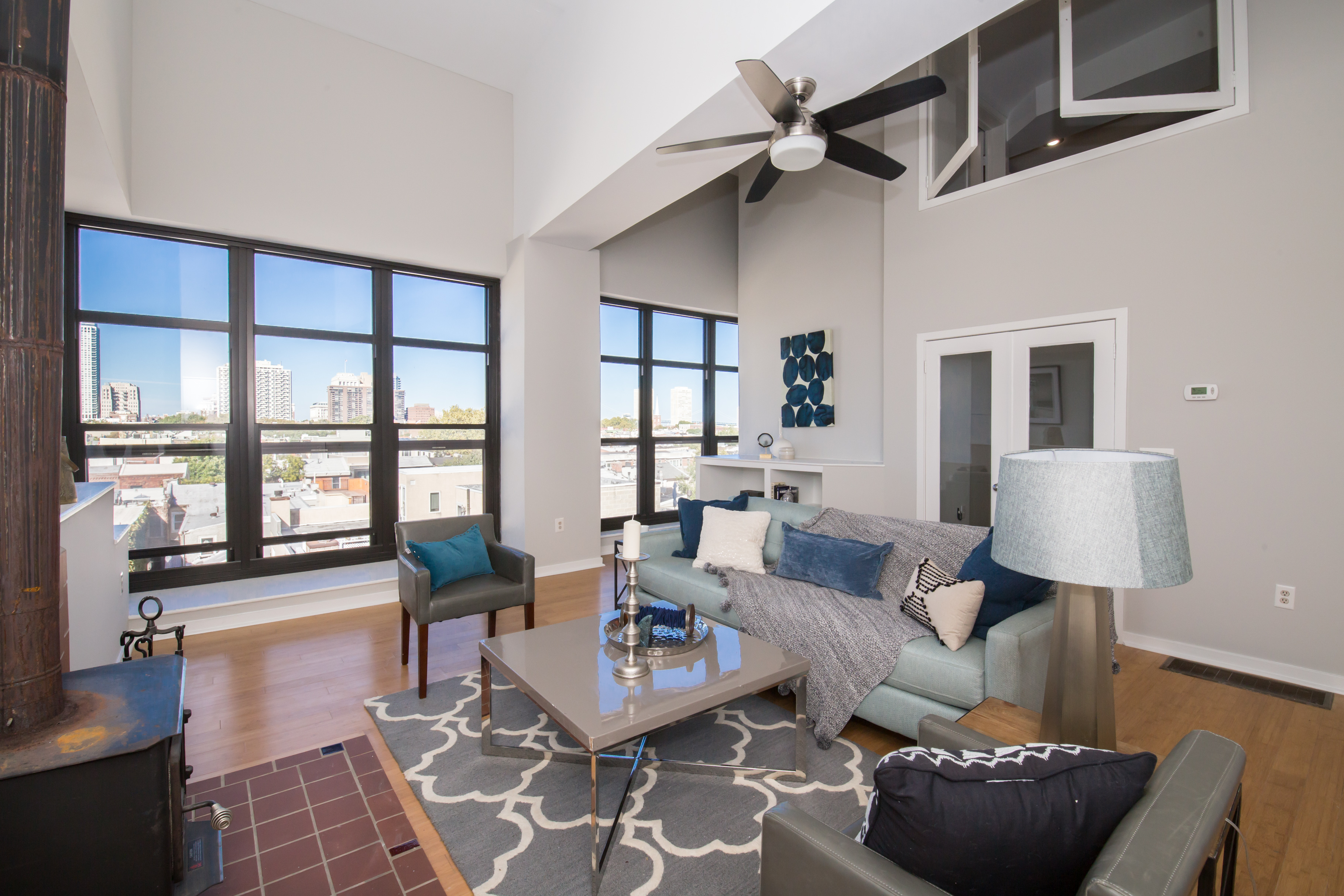 Top Floor Bella Vista Condo In Converted School Asks $349K
