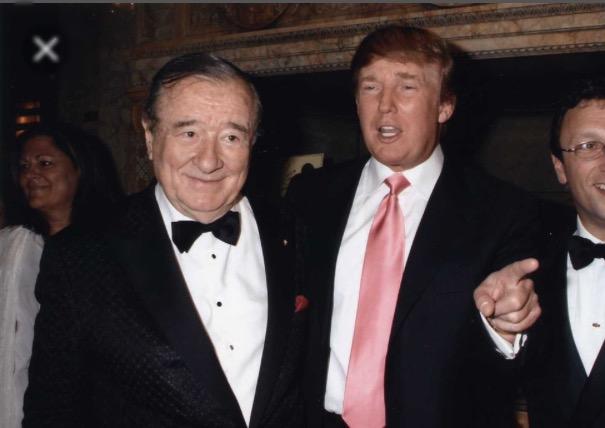 Sirio Maccioni with Donald Trump