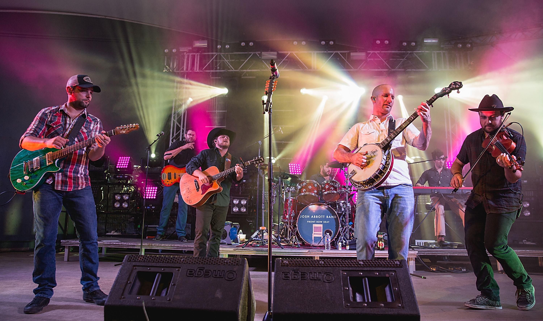 Josh Abbott Band performs in Austin Texas