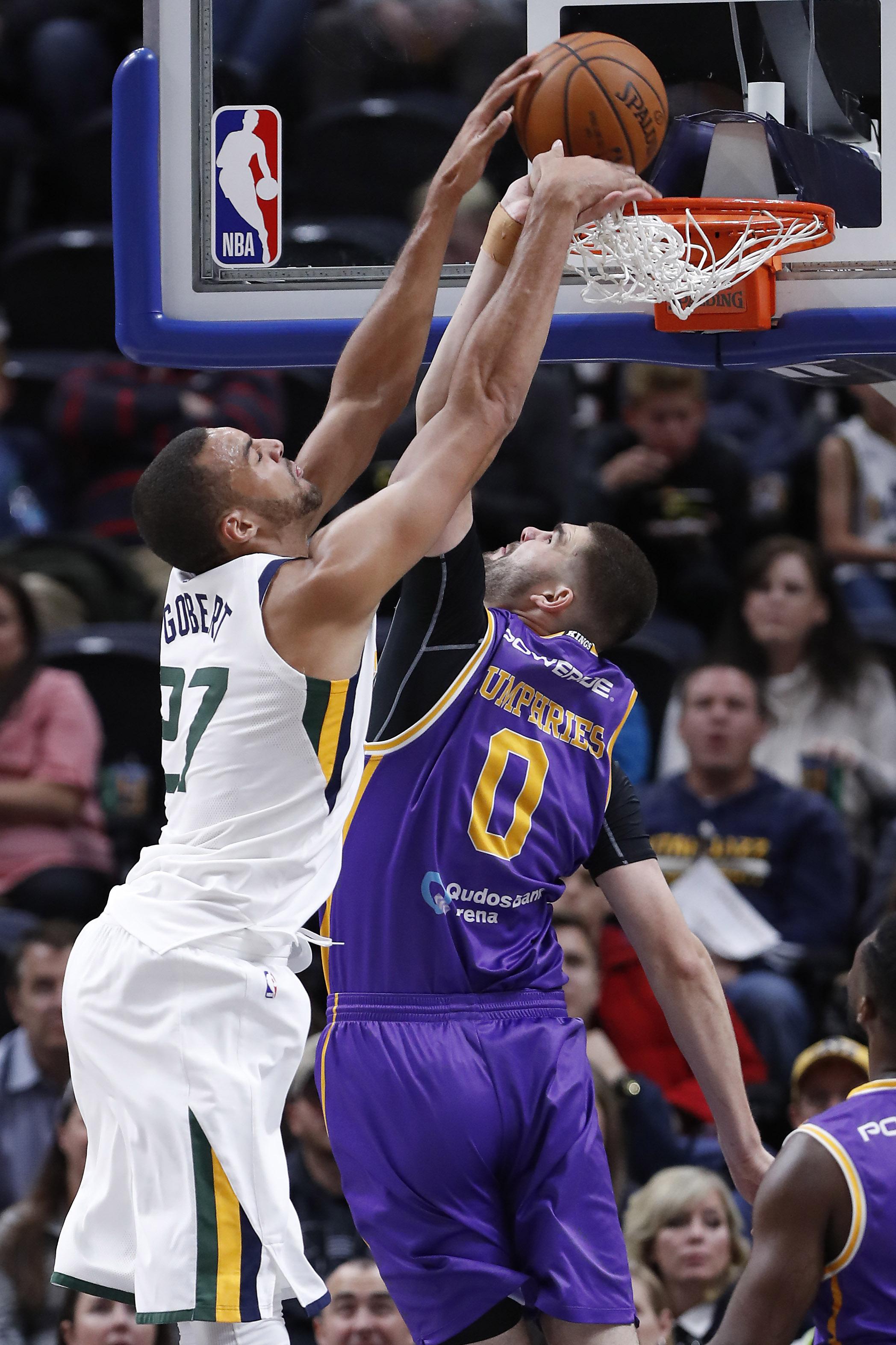 NBA: Preseason-Sydney Kings at Utah Jazz