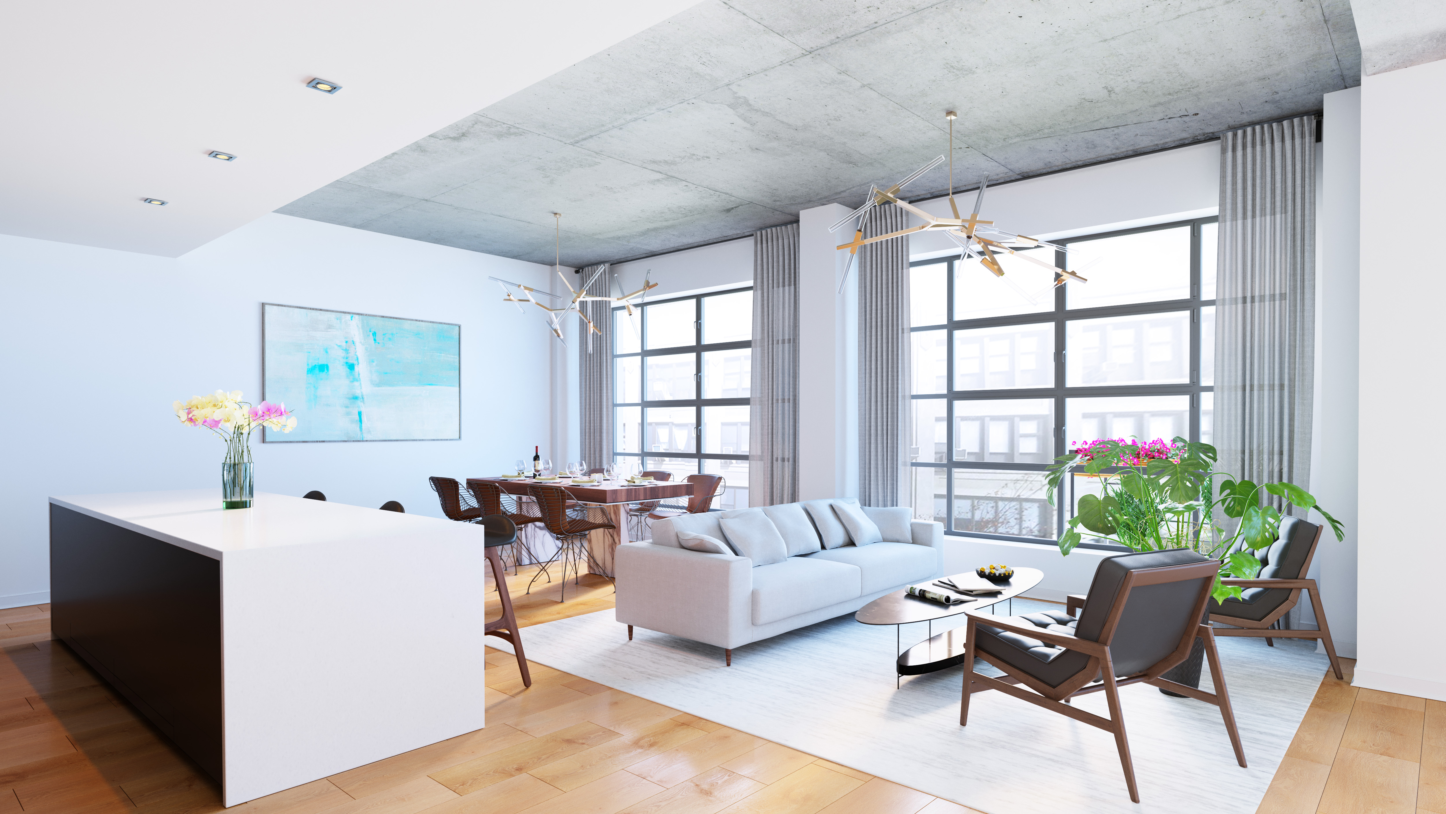 Williamsburg condo offers family-sized apartments with outdoor spaces, loft-like finishes