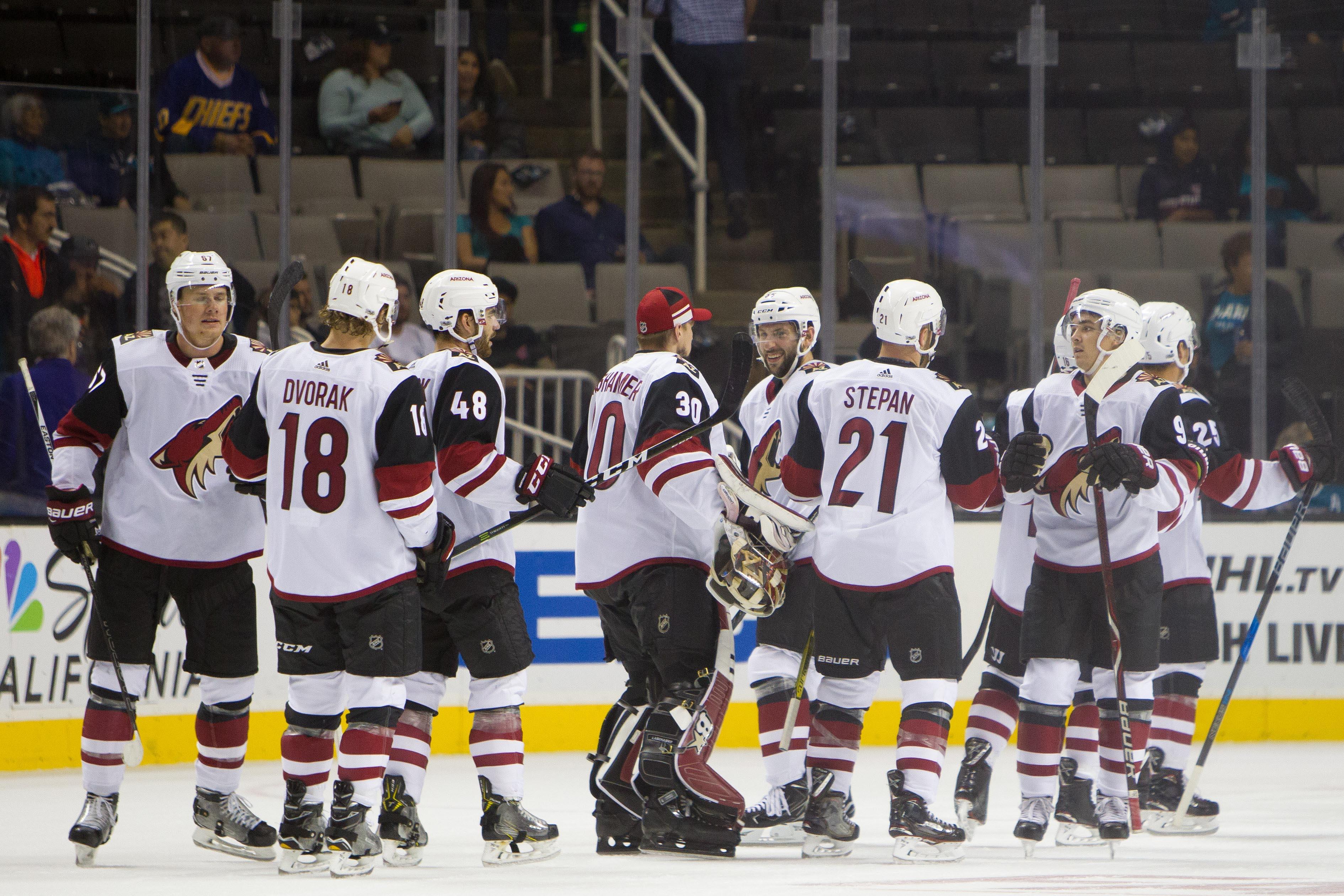 NHL: Preseason-Arizona Coyotes at San Jose Sharks