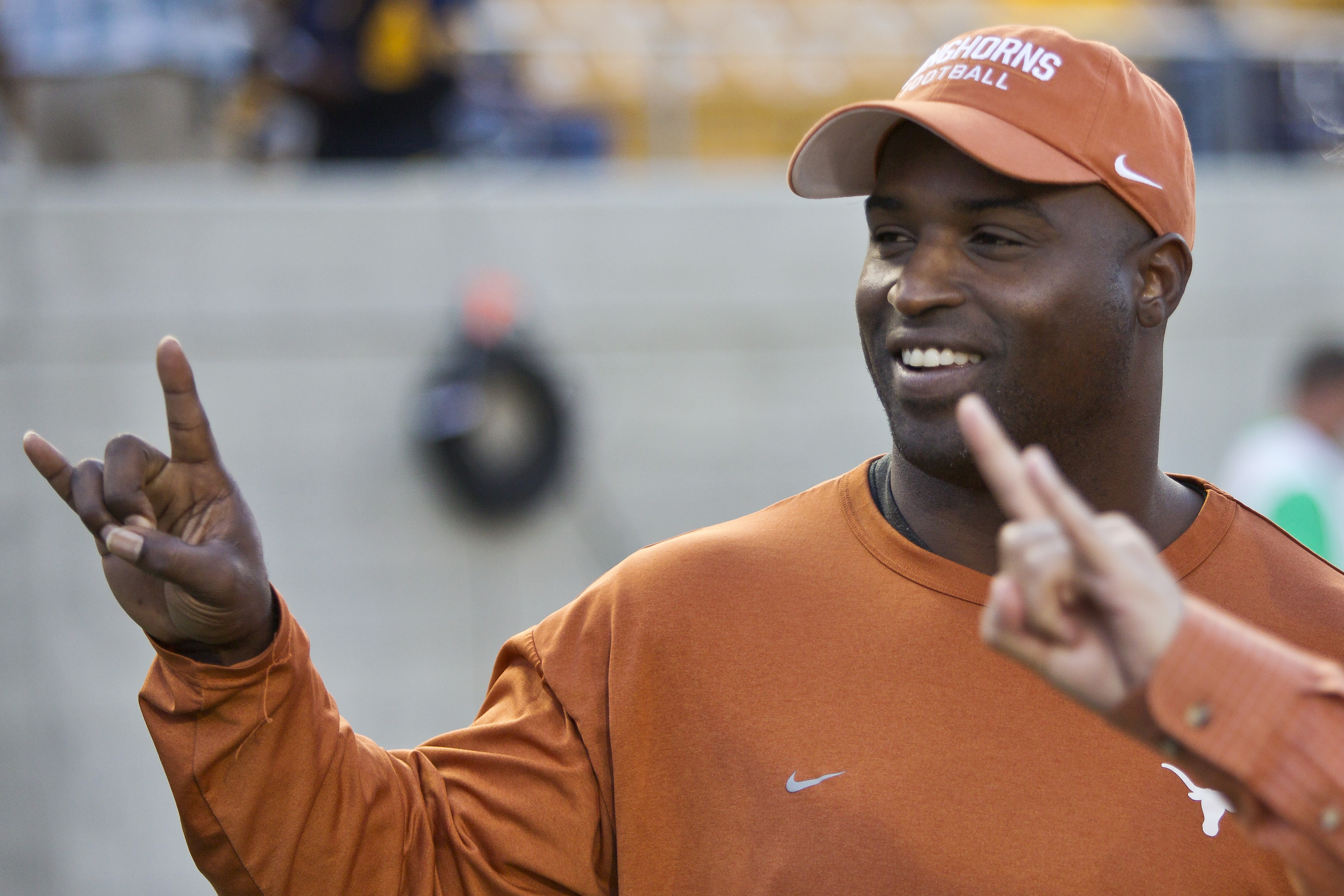 Former NFL football player and Longhorn Ricky Williams