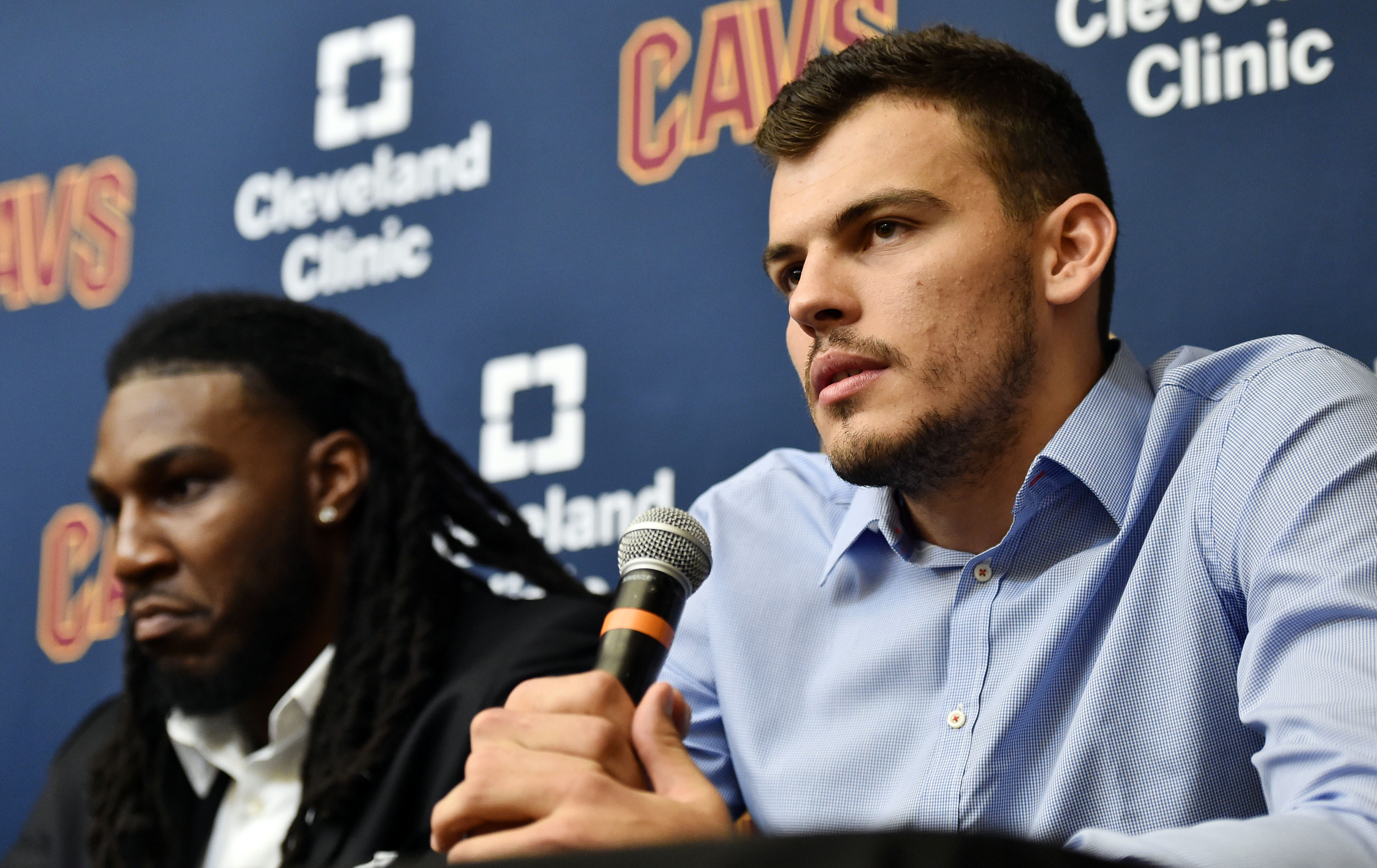 NBA: Cleveland Cavaliers-Press Conference