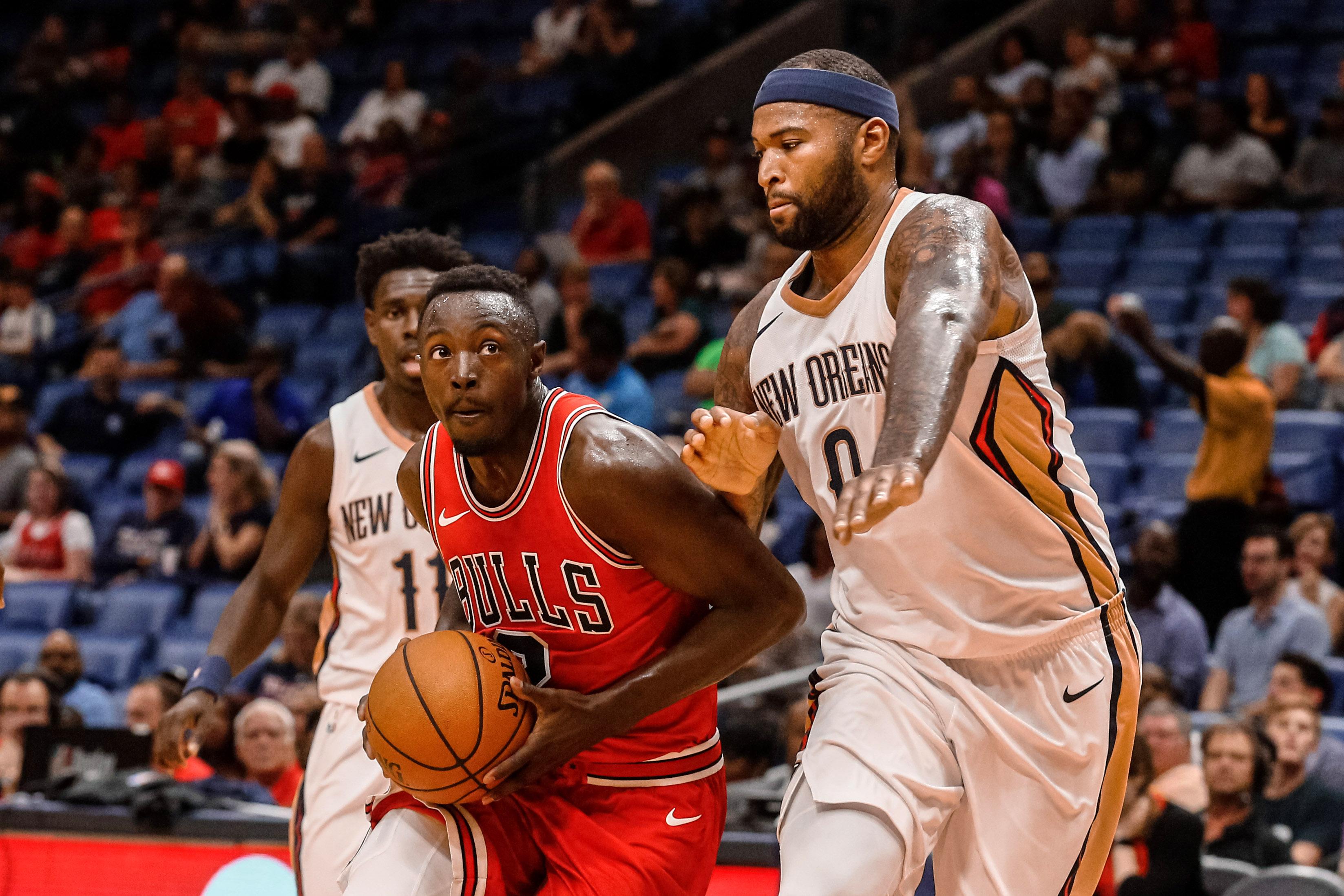 NBA: Preseason-Chicago Bulls at New Orleans Pelicans