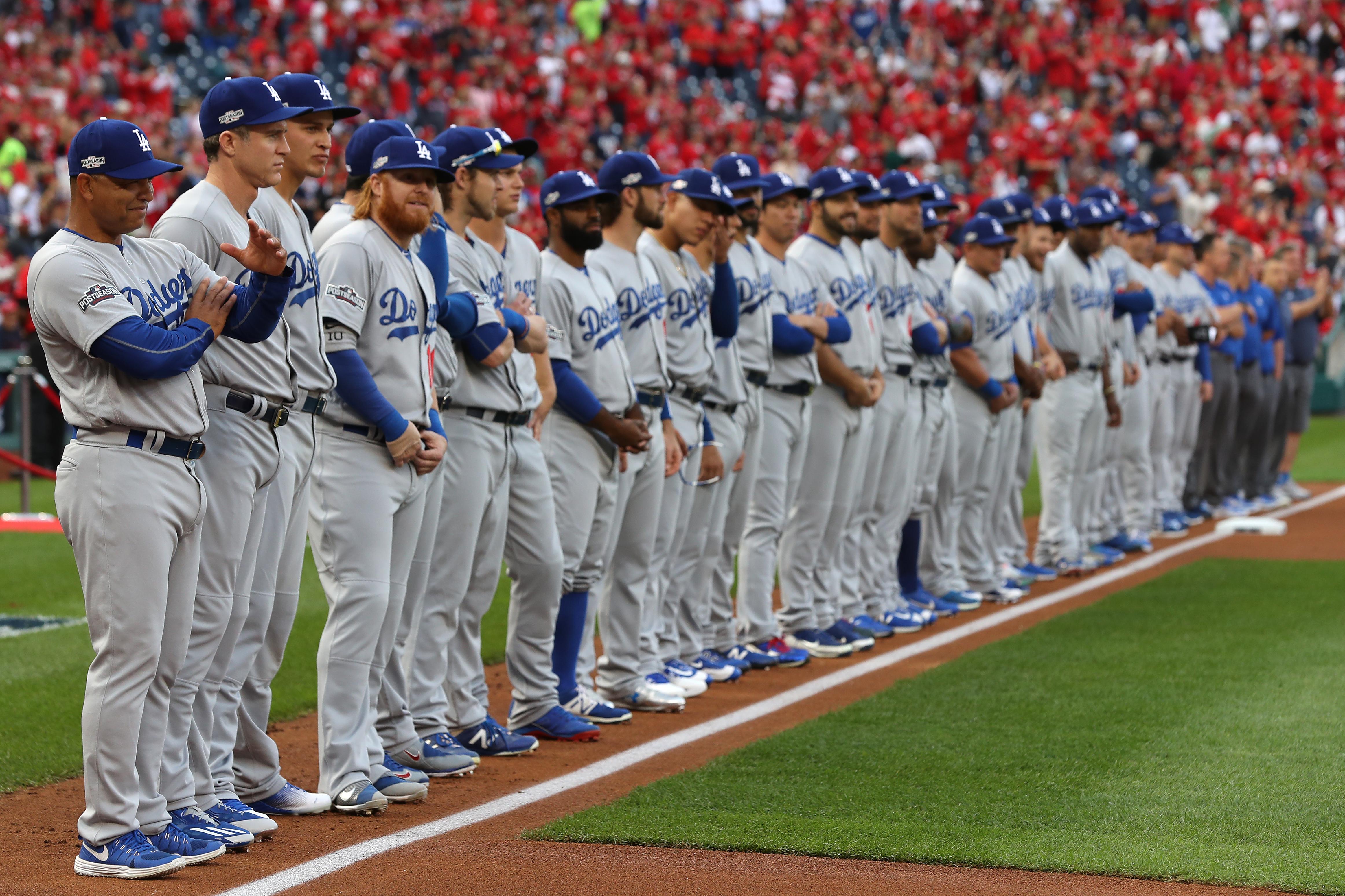 Division Series - Los Angeles Dodgers v Washington Nationals - Game One