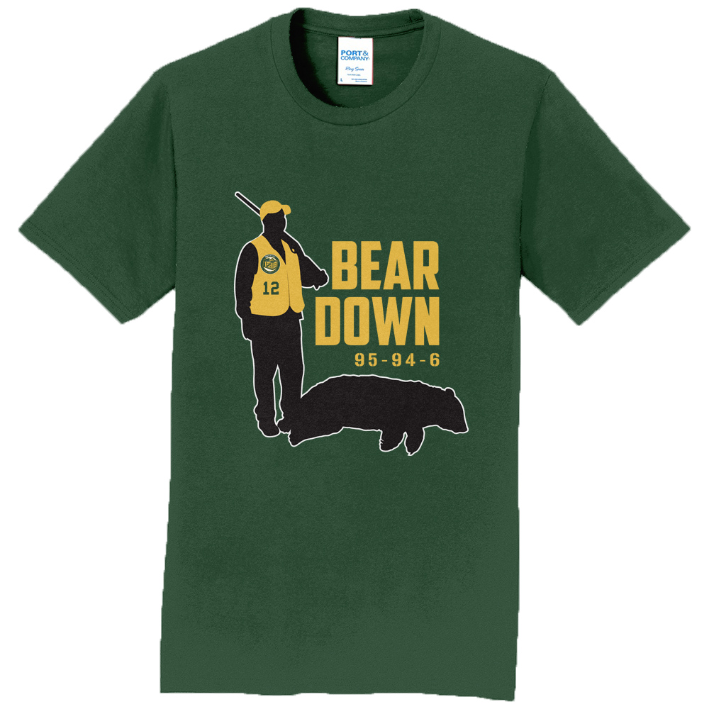 "bcbec4599889b ""Bear Down 2.0"" shirt celebrates Packers' all-time lead over Bears"