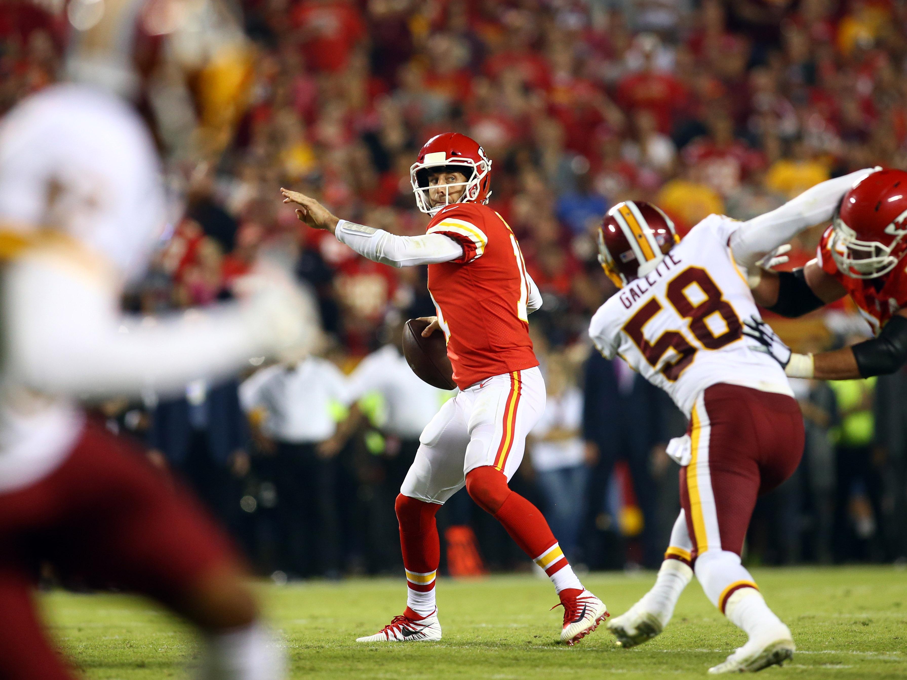 NFL: Washington Redskins at Kansas City Chiefs