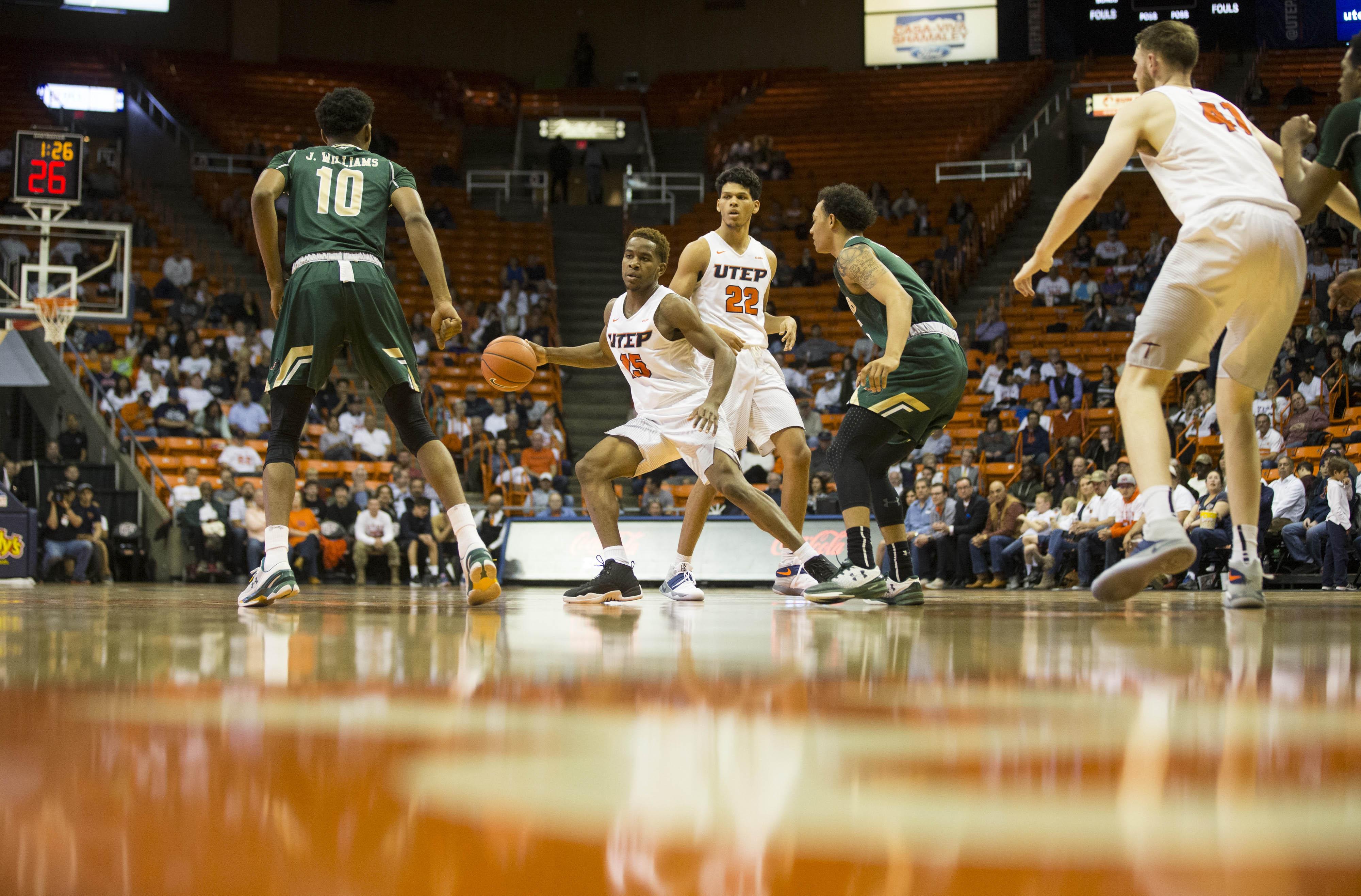 NCAA Basketball: UAB at Texas-El Paso
