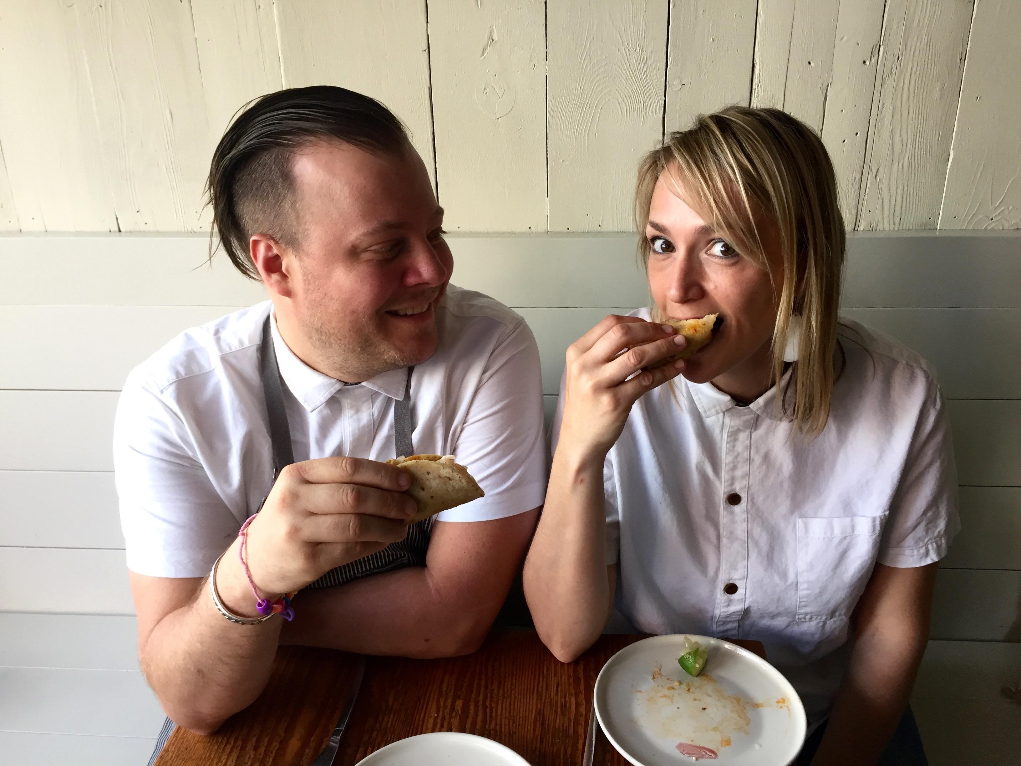 Sarah and Evan Rich