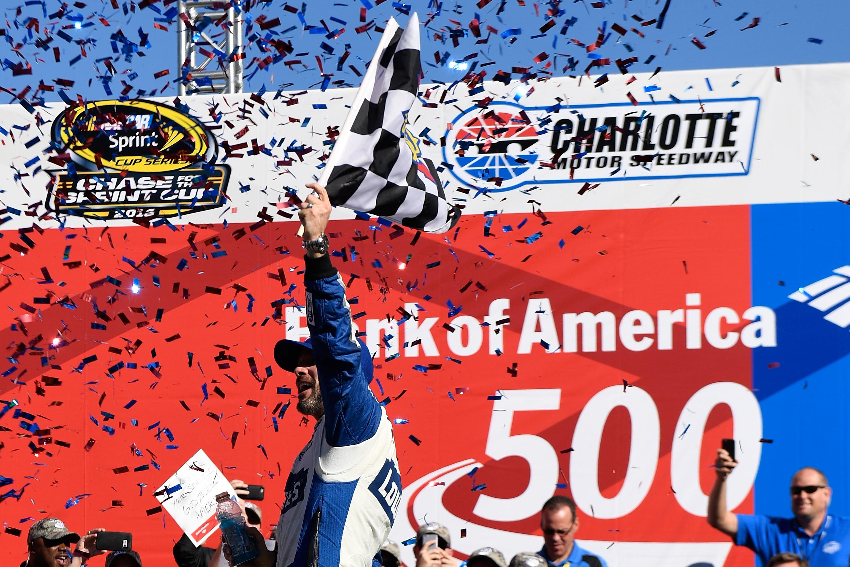 NASCAR Sprint Cup Series Bank of America 500