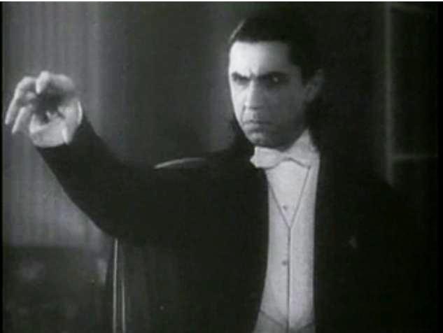 Bela Lugosi in 'Dracula.'