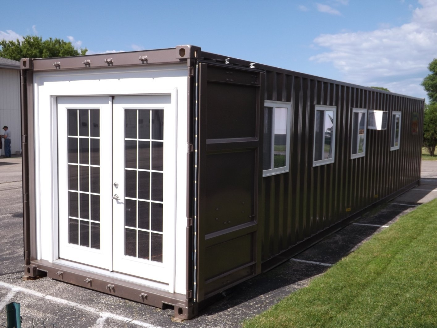 Shipping container house now available on Amazon