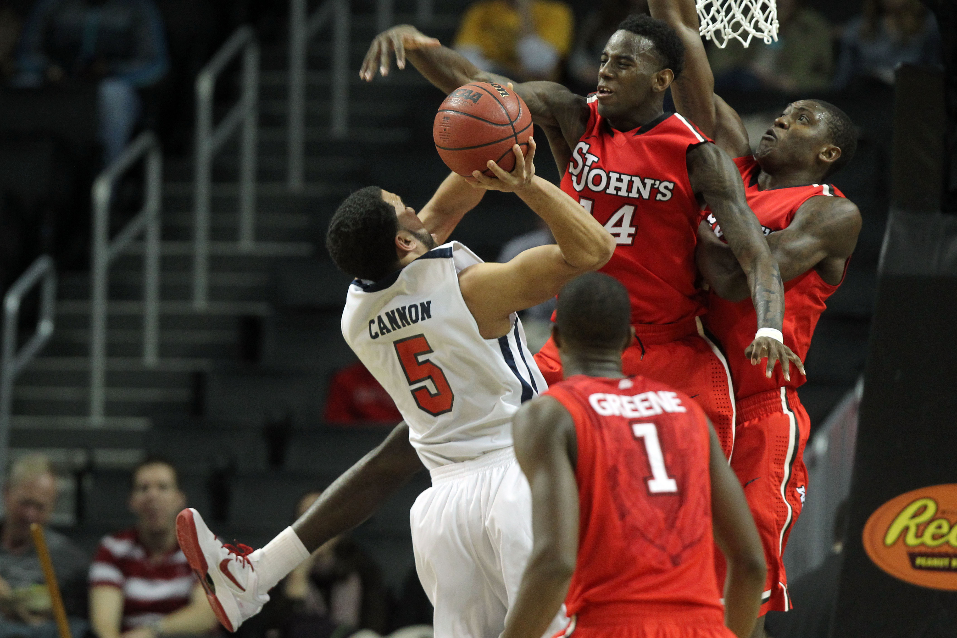 St. John's lead the nation in shot-blocking, but have struggled to put away opponents.