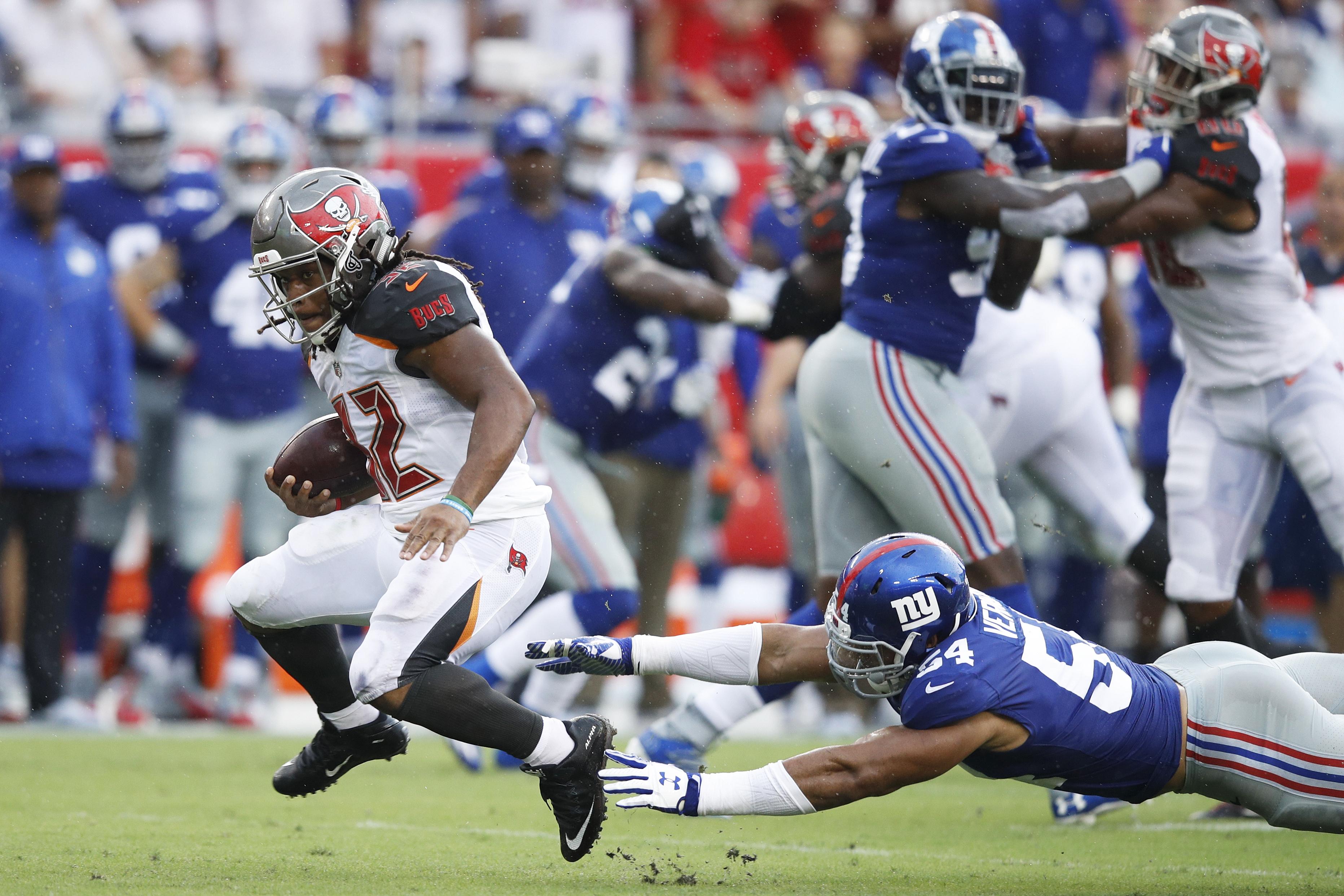 New York Giants v Tampa Bay Buccaneers