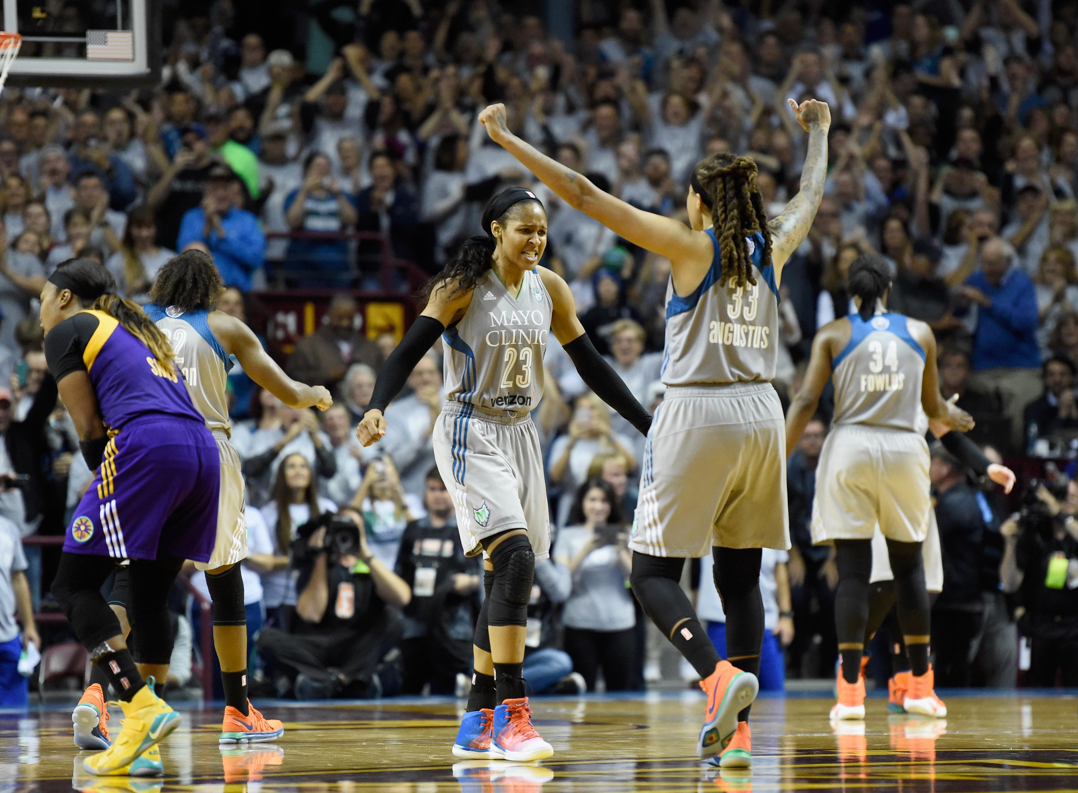 WNBA Finals - Game Five
