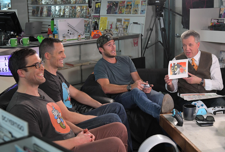 Jared Moldenhauer, Chad Moldenhauer, Scott Eastwood, and Larry Hyrb