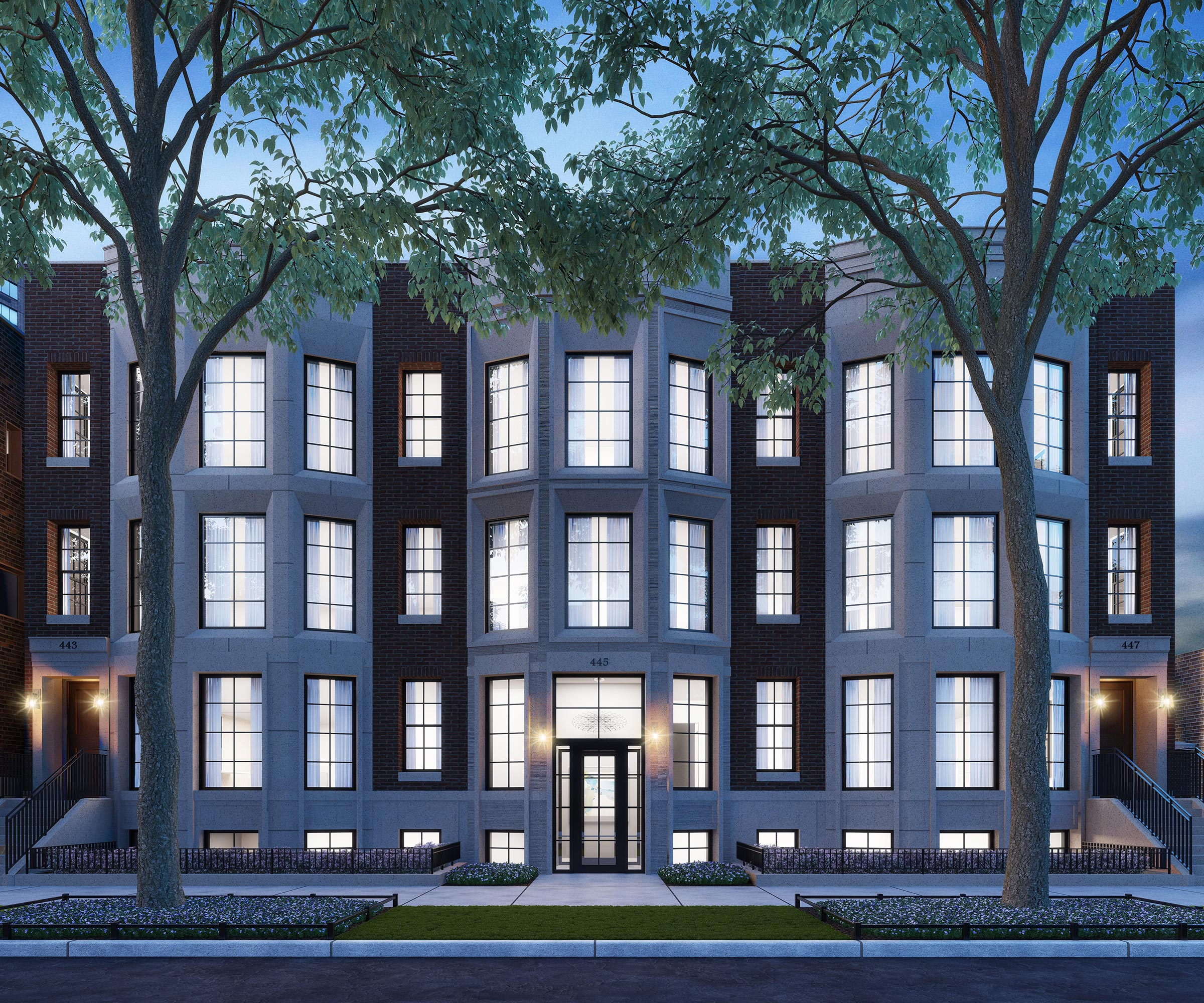 curbed condo unit for homes lincoln headed sale chicago eight neighborhood development to park east