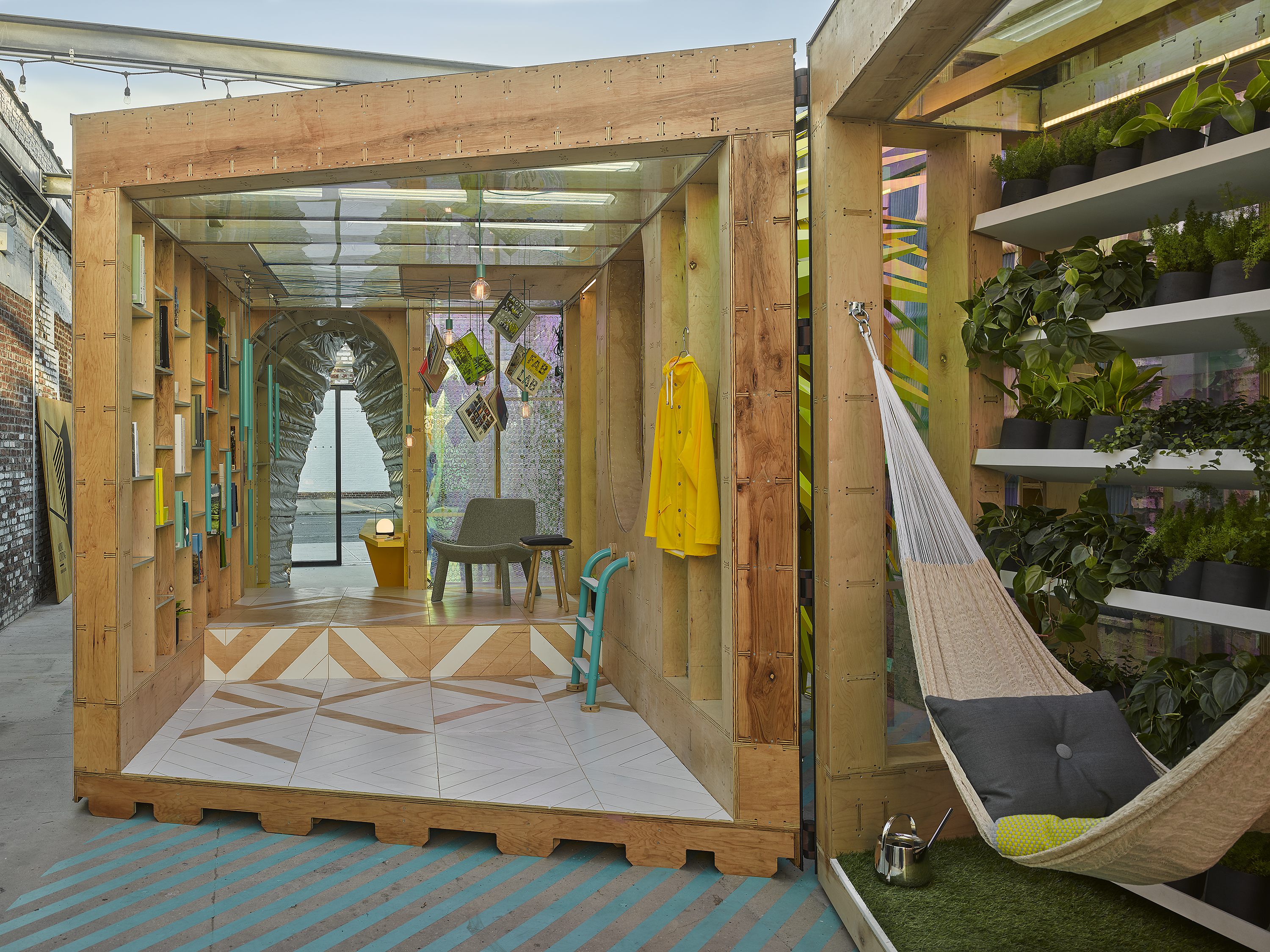 The tiny cabin goes high design in new micro housing concept