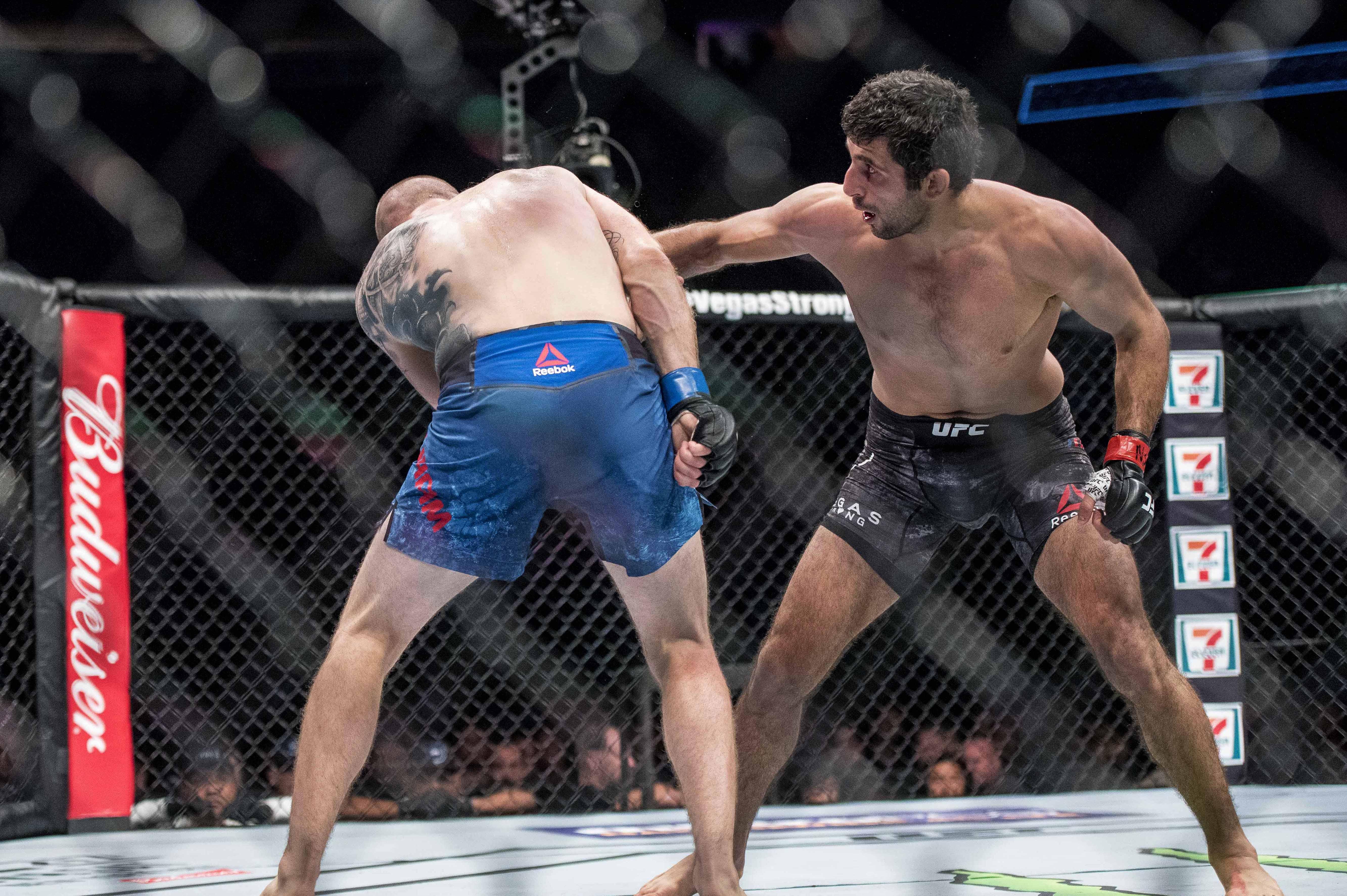 MMA: UFC 216-Dariush vs Dunham