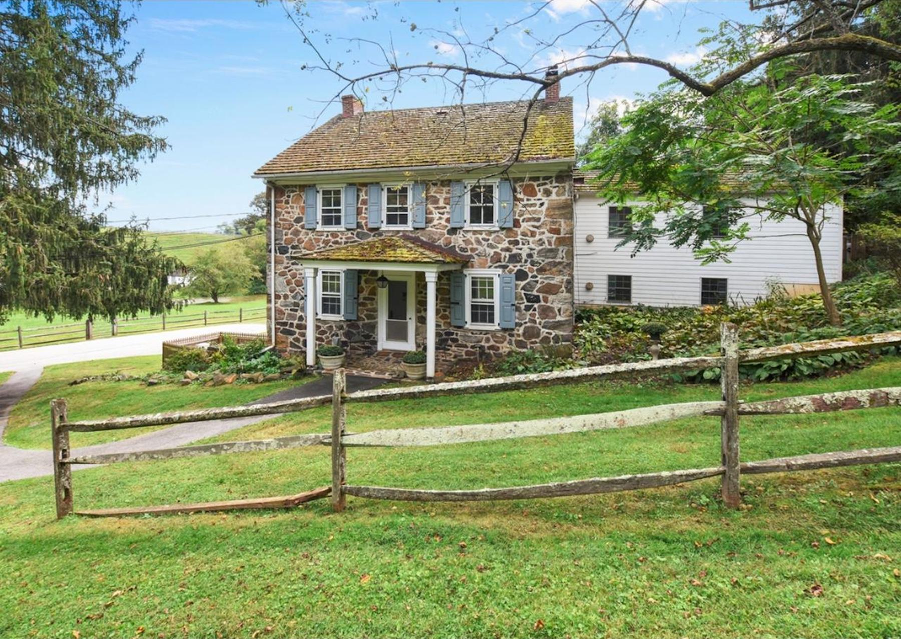 5 really old stone homes for sale in pennsylvania s countryside