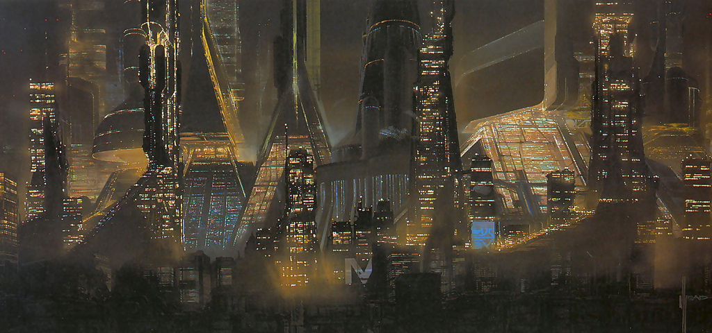 Meet Syd Mead, the artist who illustrates the future