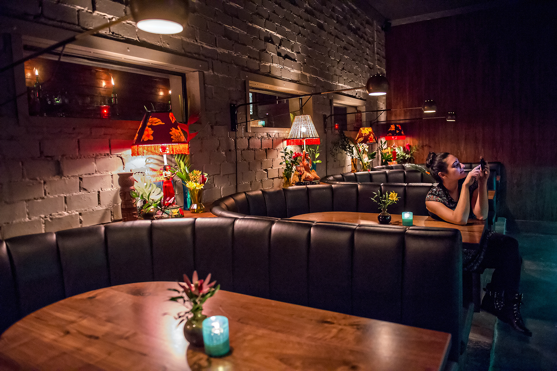 Inside The SOS Tiki Bar