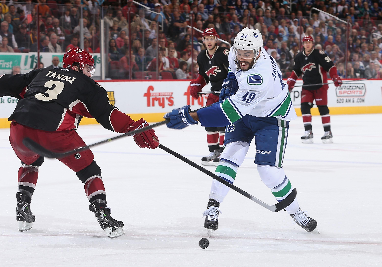 Vancouver Canucks v Phoenix Coyotes