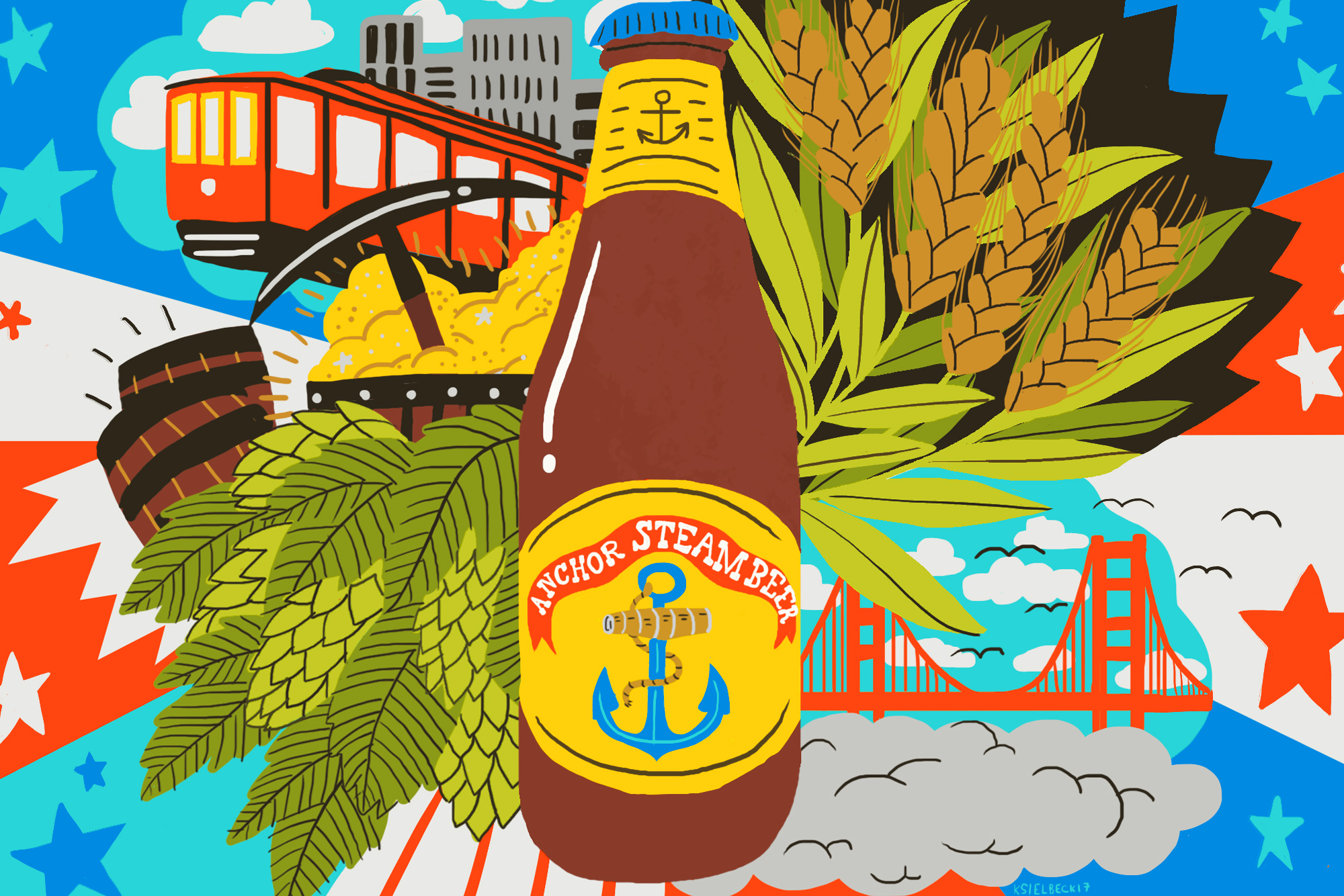 The History of Steam Beer, America's Original Craft Brew