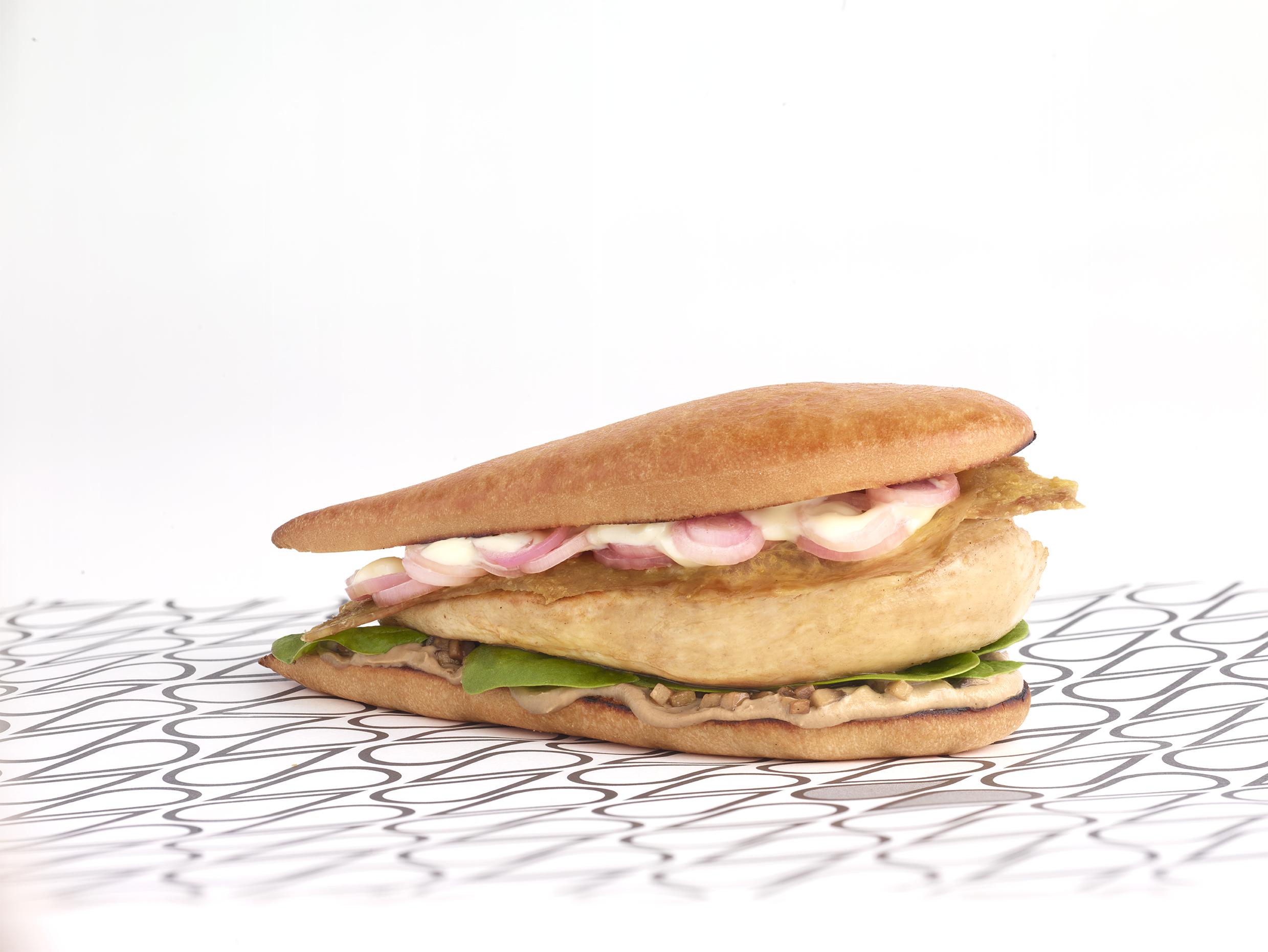 Schmaltz sandwich