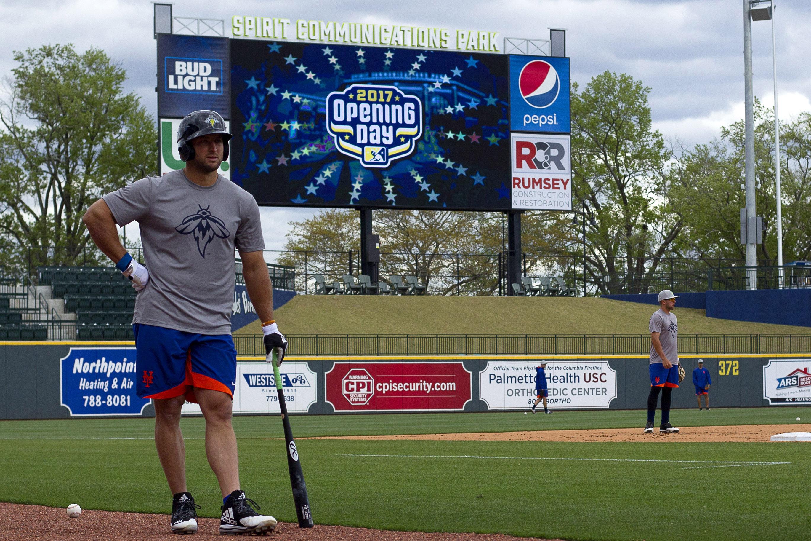 Minor League Baseball: Augusta GreenJackets at Columbia Fireflies