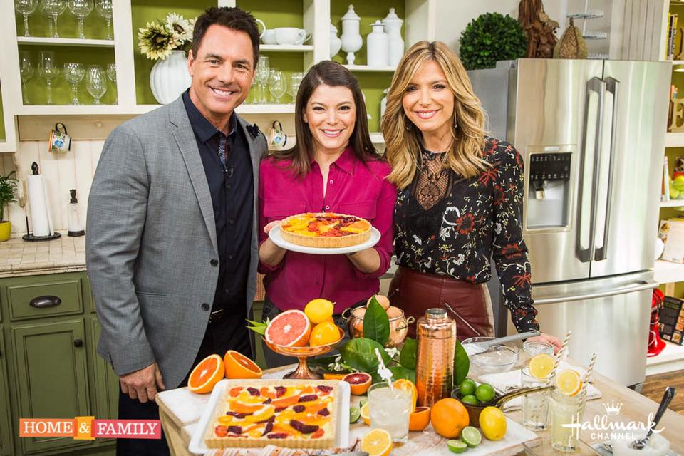 Gail Simmons on an episode of Hallmark Channel's Home & Family