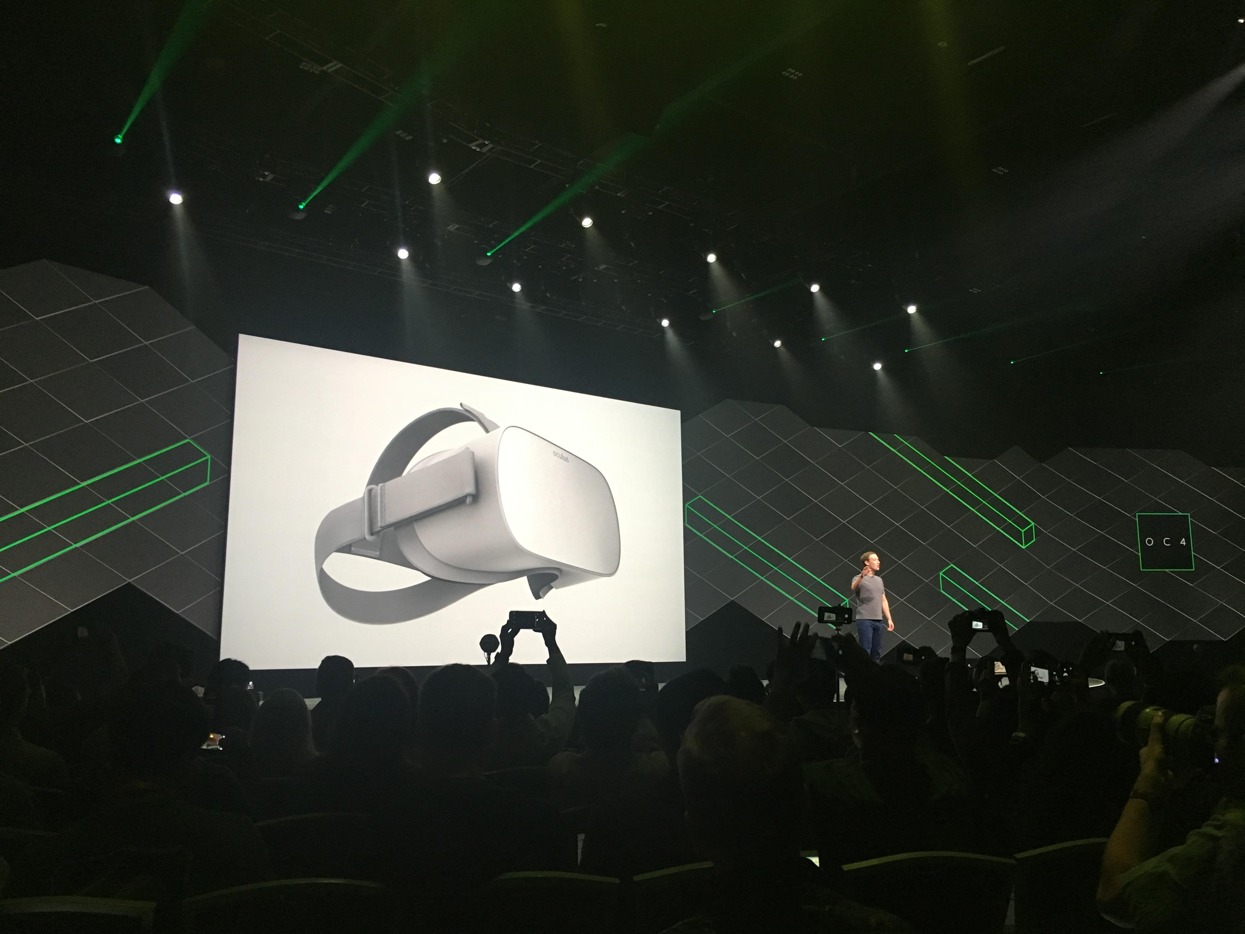 Mark Zuckerberg at Oculus Connect