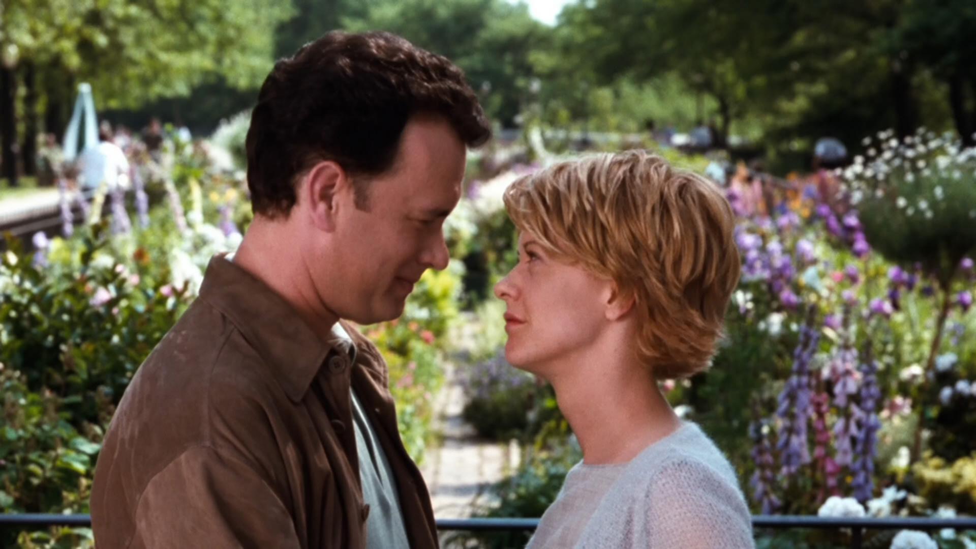 Tom Hanks and Meg Ryan in You've Got Mail.