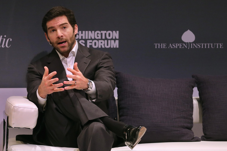 LinkedIn CEO Jeff Weiner speaks at the Washington Ideas Forum