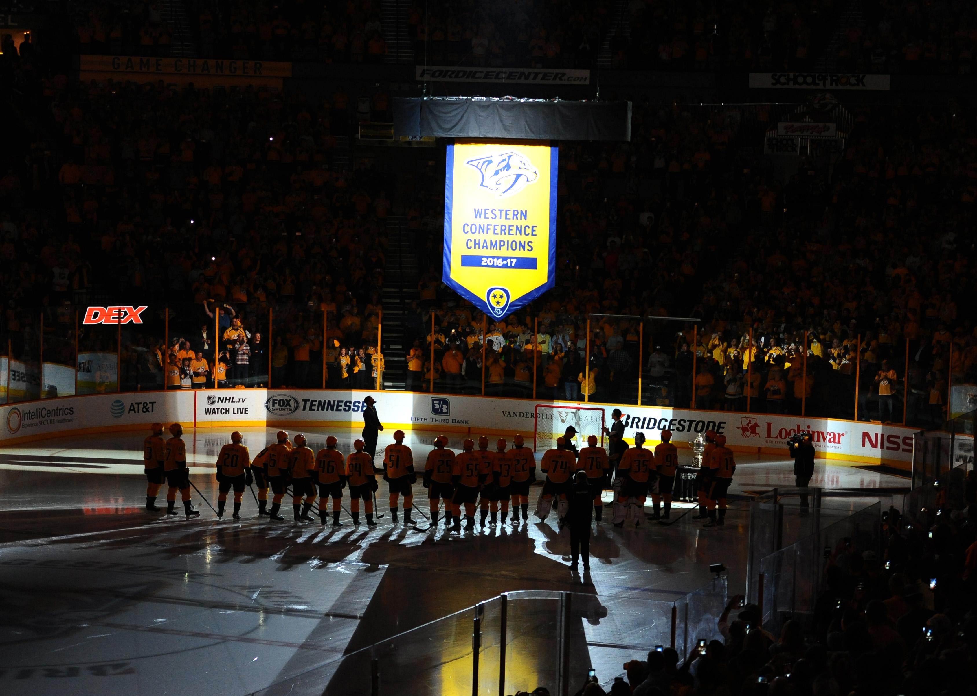 NHL: Philadelphia Flyers at Nashville Predators