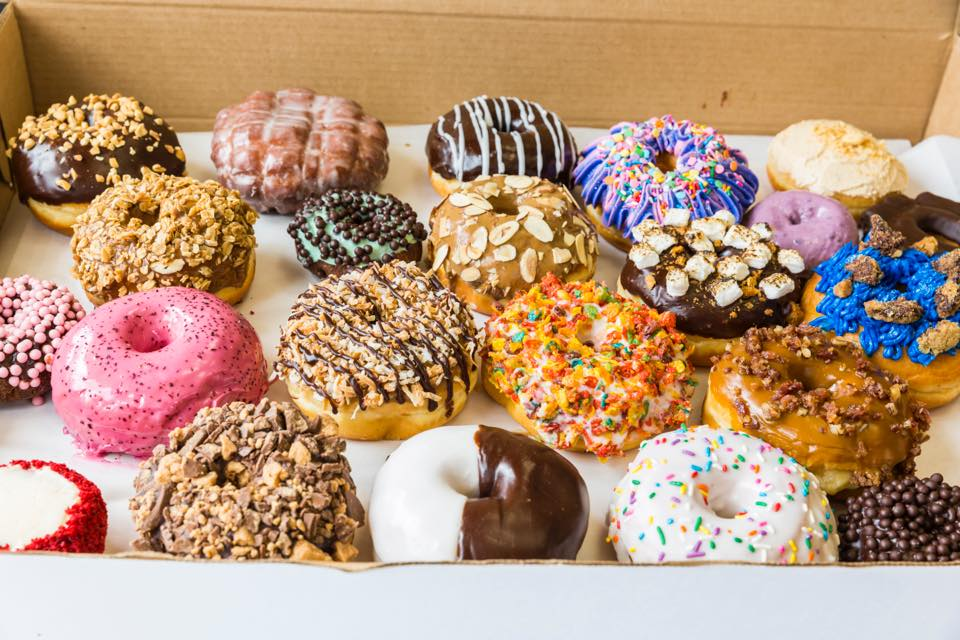 A colorful bounty awaits at Lee's Fried Chicken & Donuts
