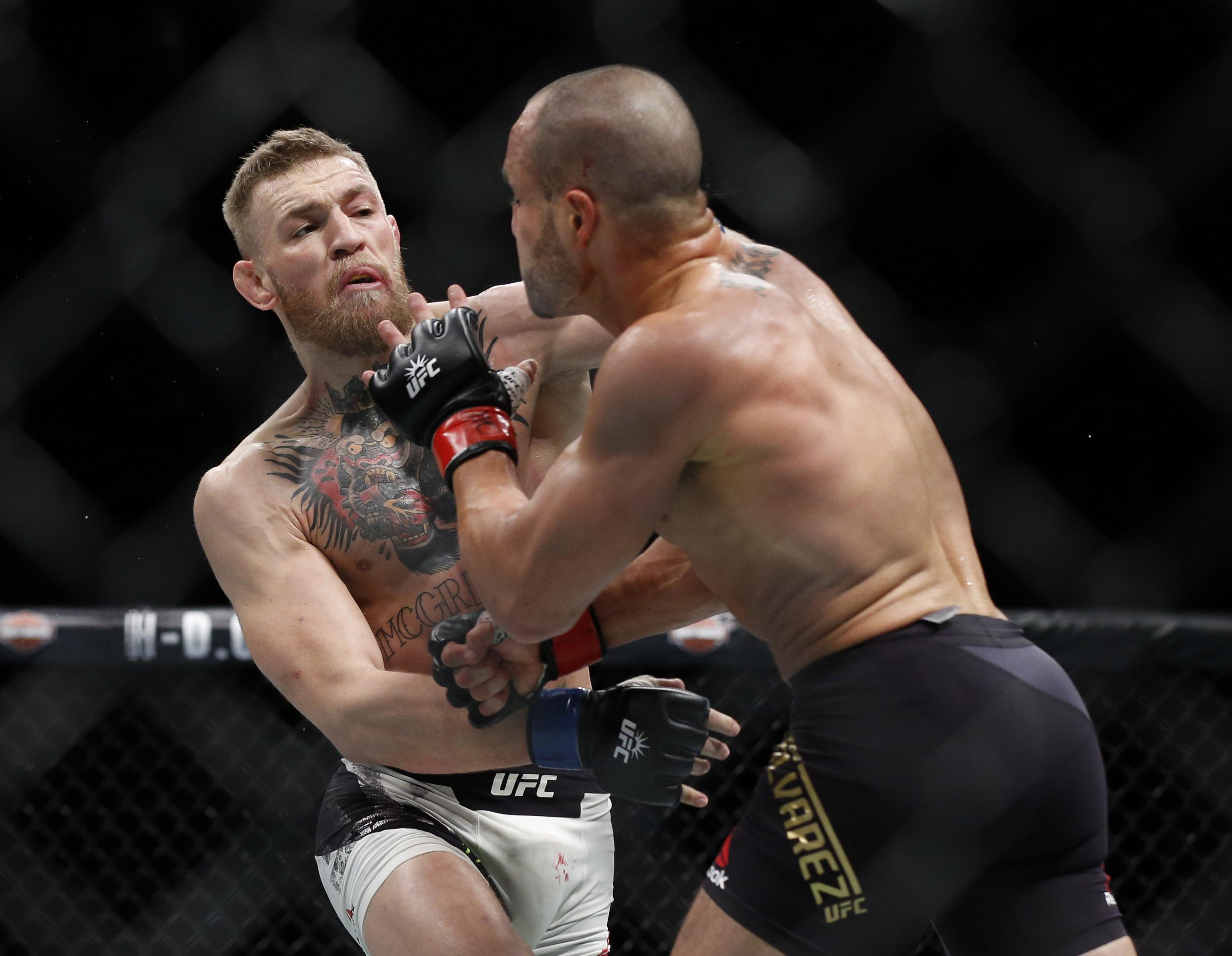 MMA: UFC 205-McGregor vs Alvarez