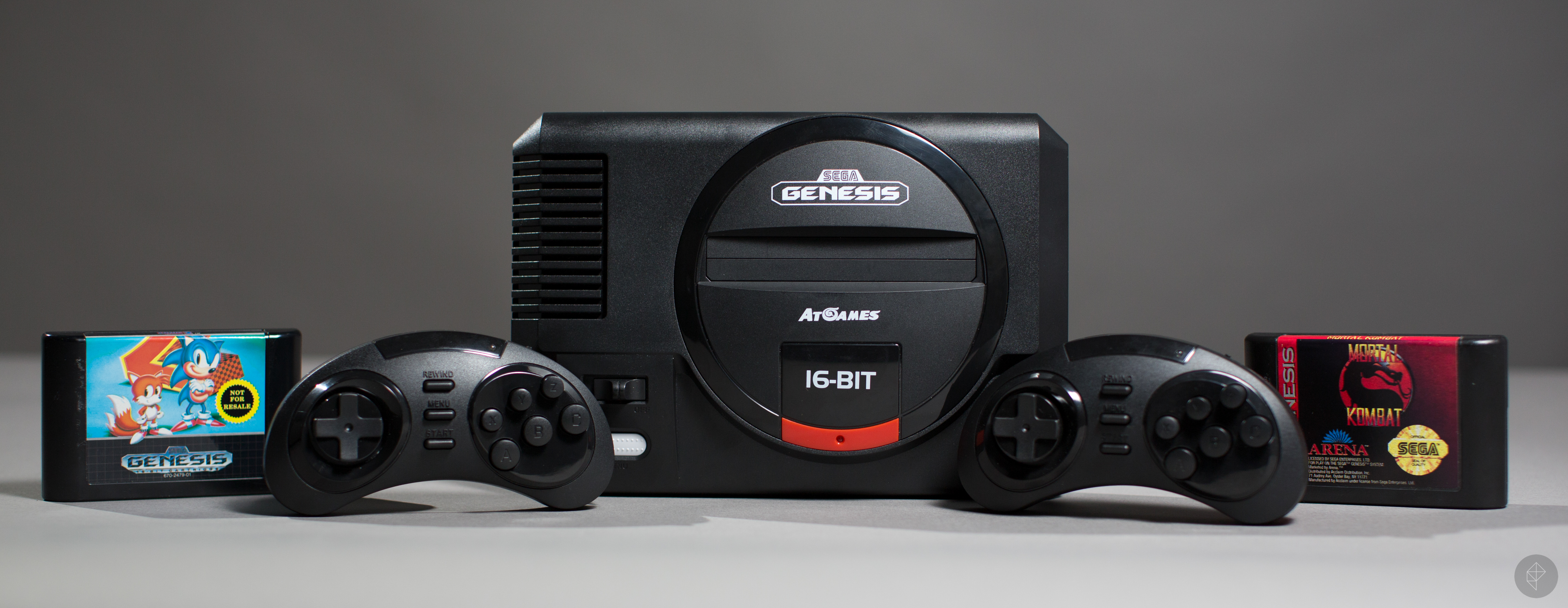 Sega Genesis Flashback Hd Review Polygon The Wireless Remote Control System Has One Mode T You